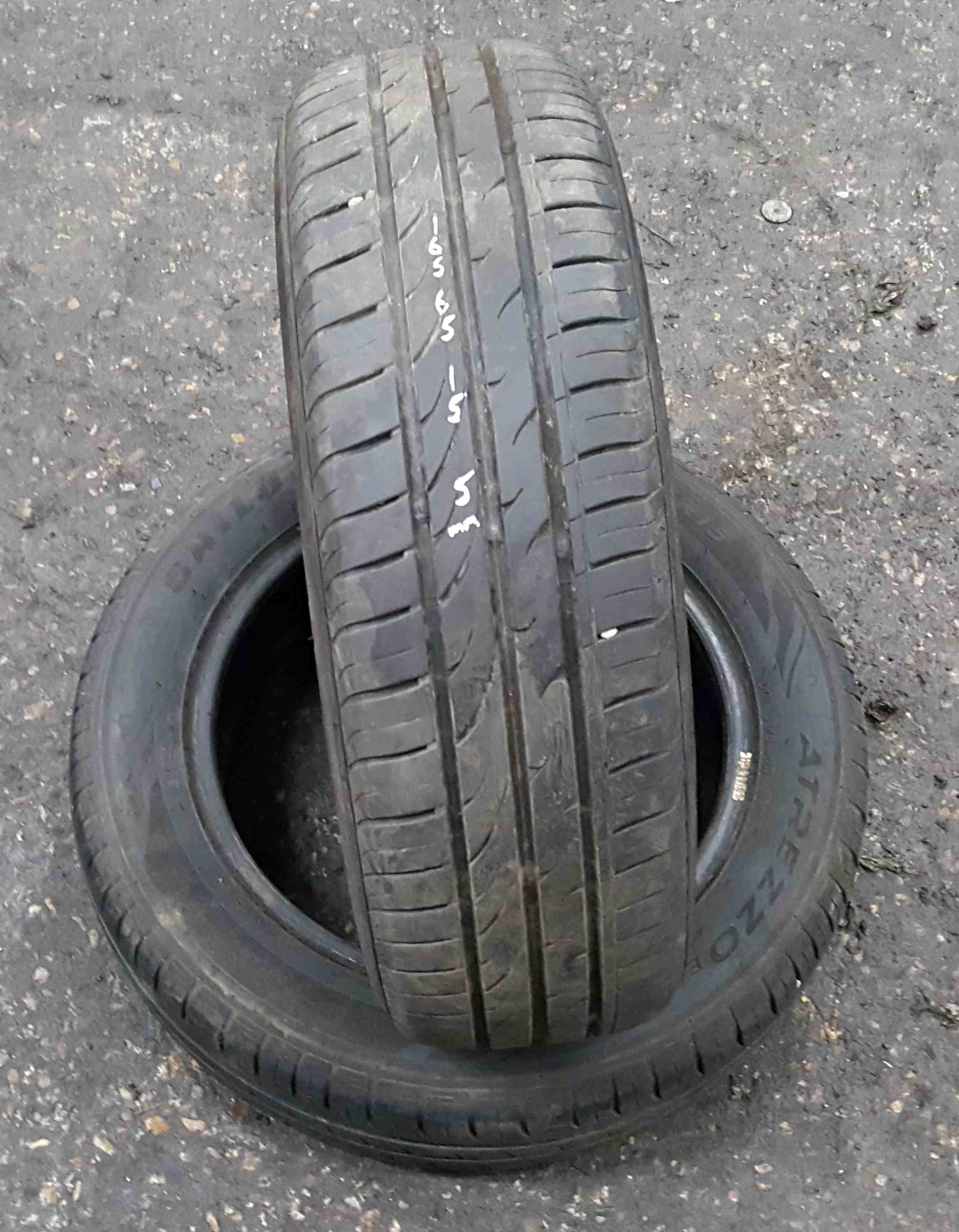 Part Worn Tyre 165 65 15 5mm Tread X1