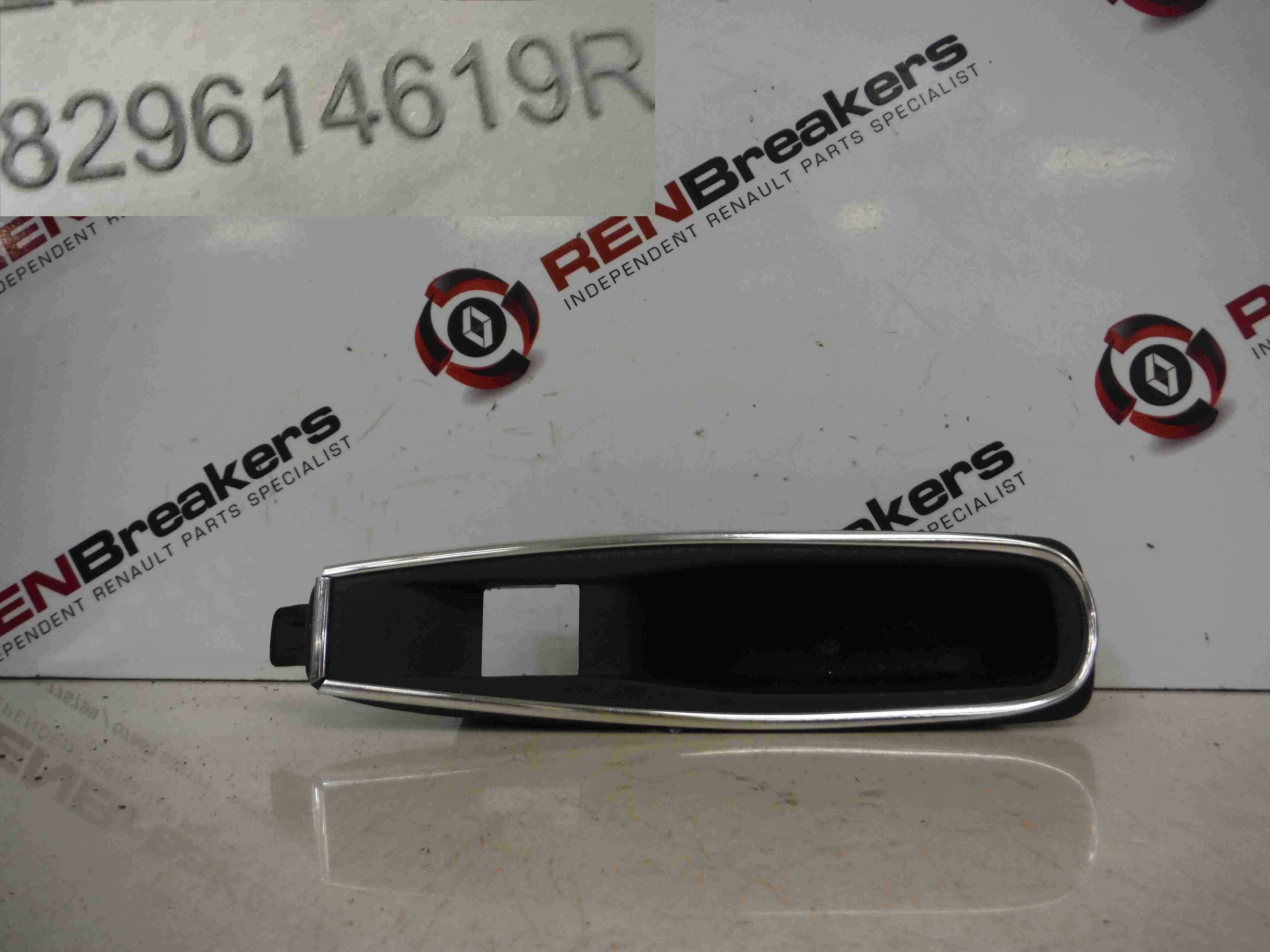 Renault Captur 2013-2015 Passenger NSR Rear Door Handle Open Silver Trim