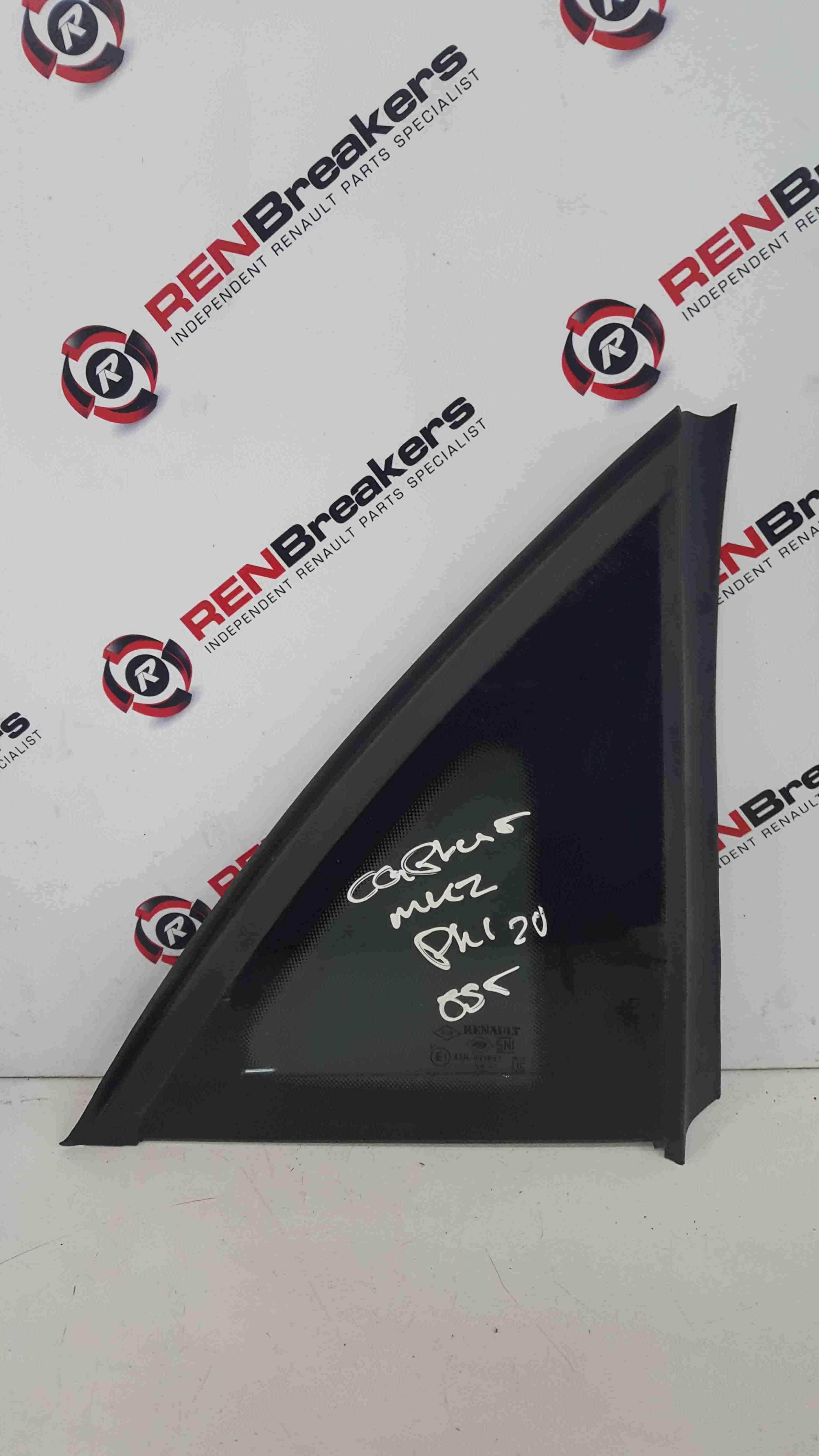 Renault Captur 2013-2019 Drivers OSR Rear Window Glass Small