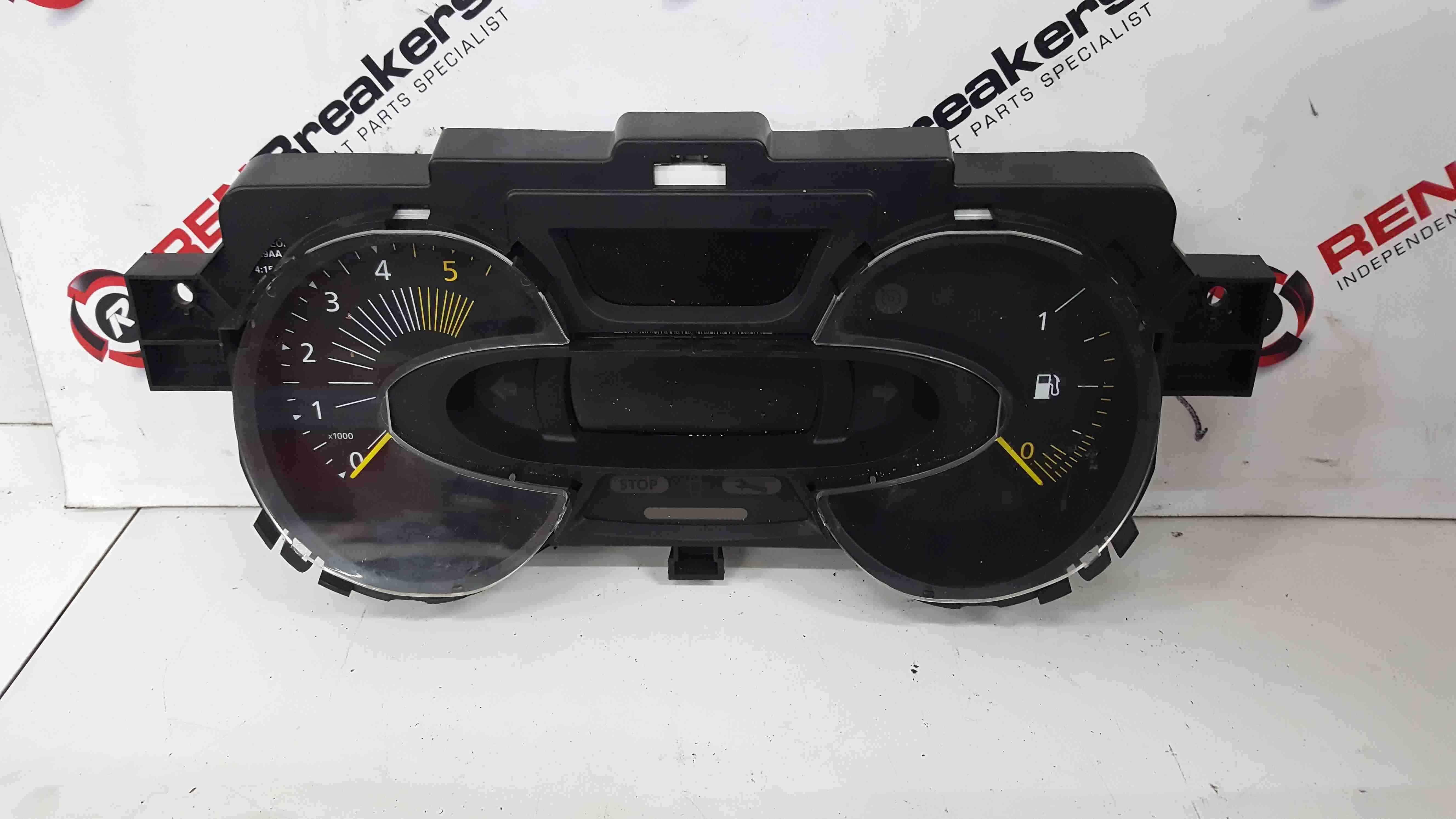 Renault Captur 2013-2019 Intrument Panel Dials Clocks Gauges 63K 248108011R
