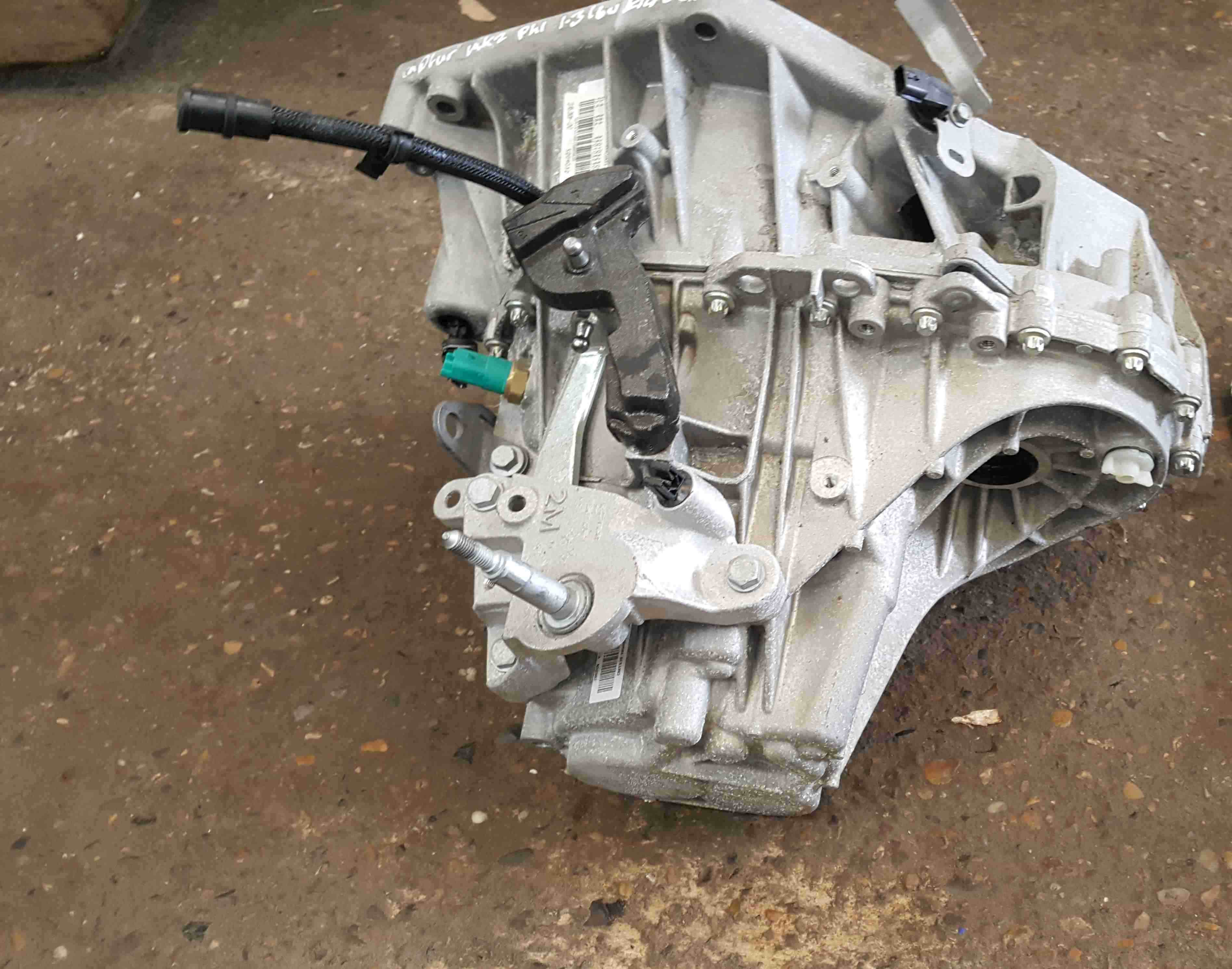 Renault Captur 2019-2021 1.3 TCe 6 Speed Manual Gearbox TL4 364