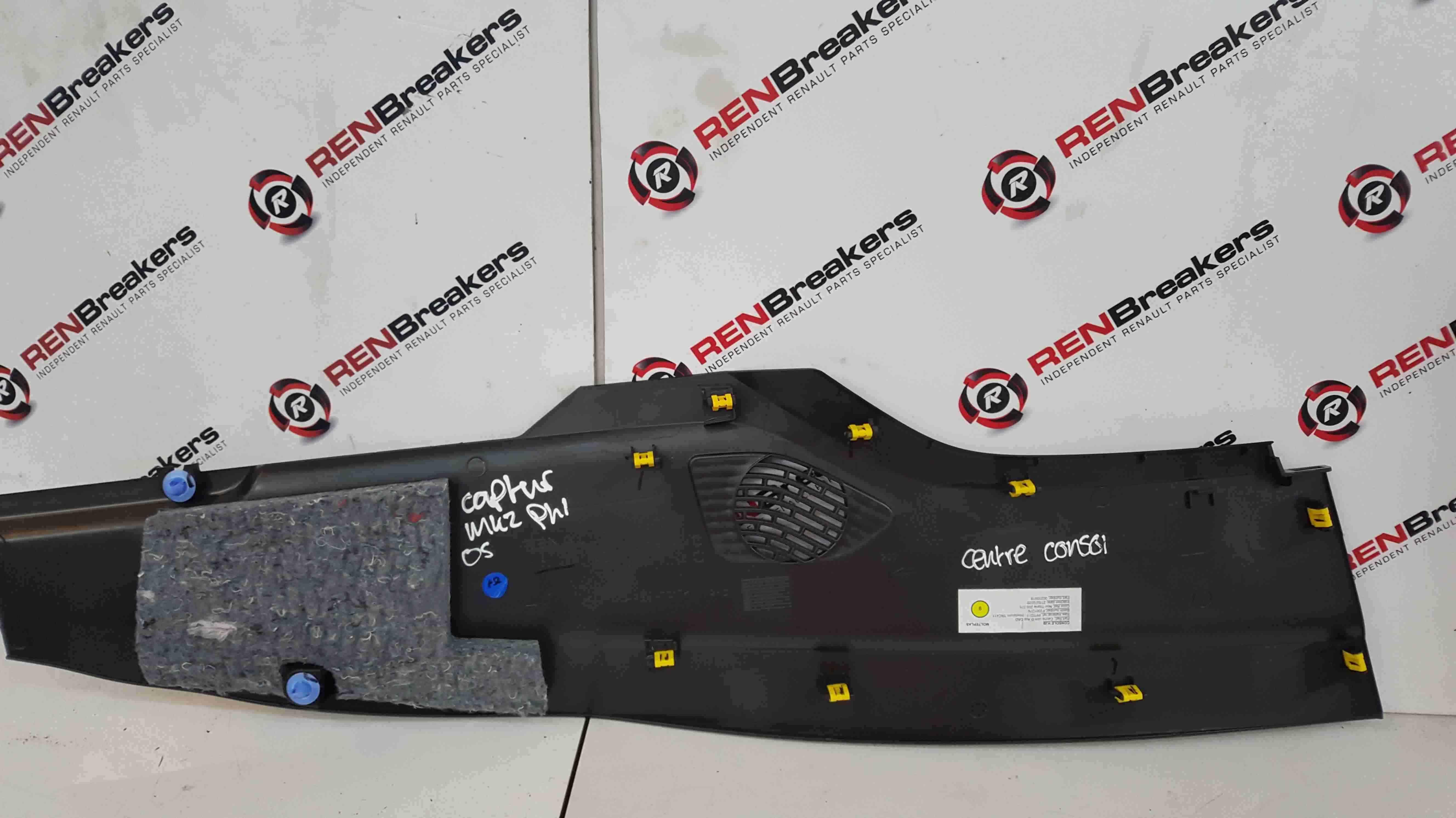 Renault Captur 2019-2021 Drivers OS Centre Console Trim Plastic 689208448R