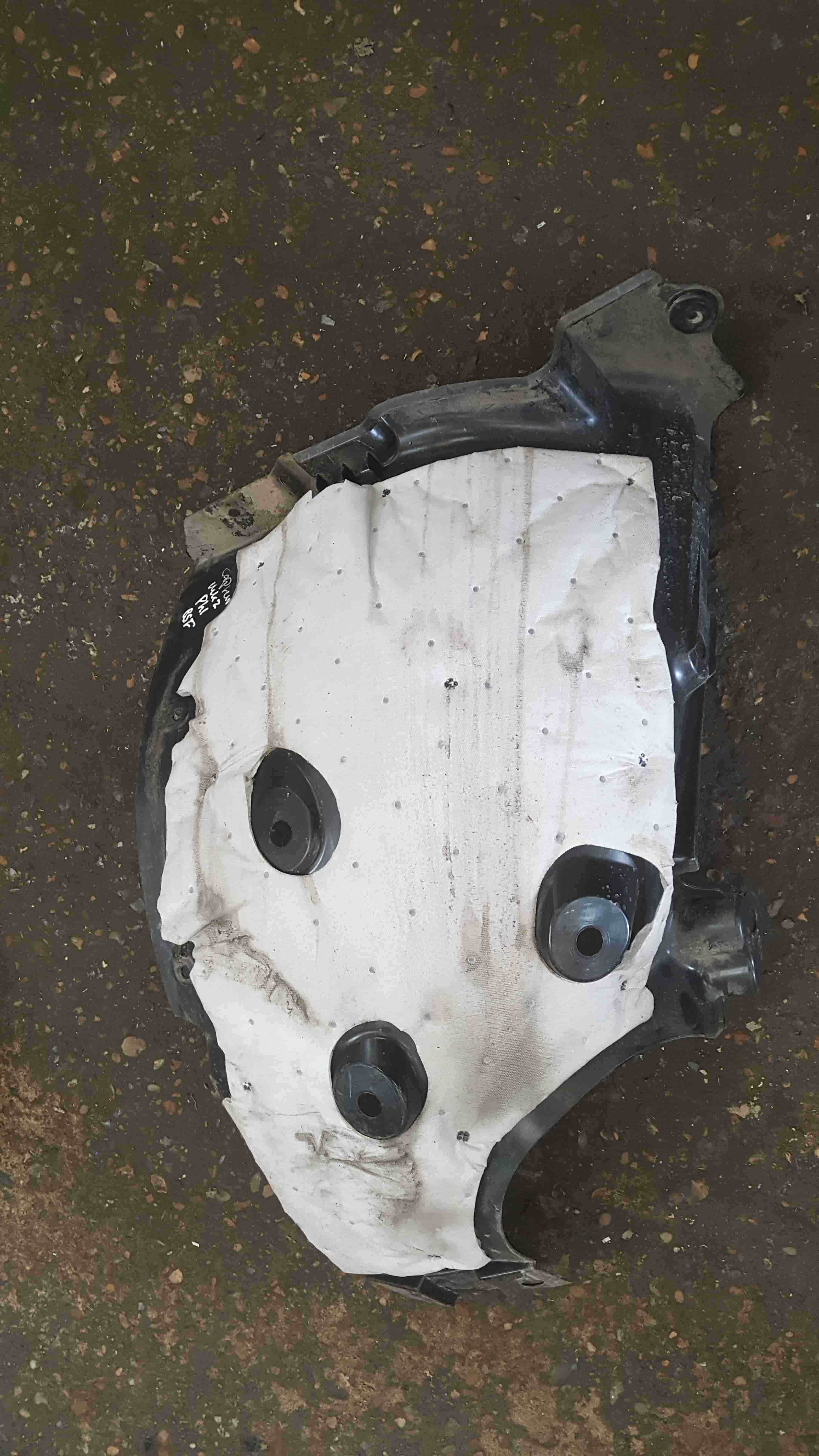 Renault Captur 2019-2021 Drivers OSF Front Wheel Arch One Part
