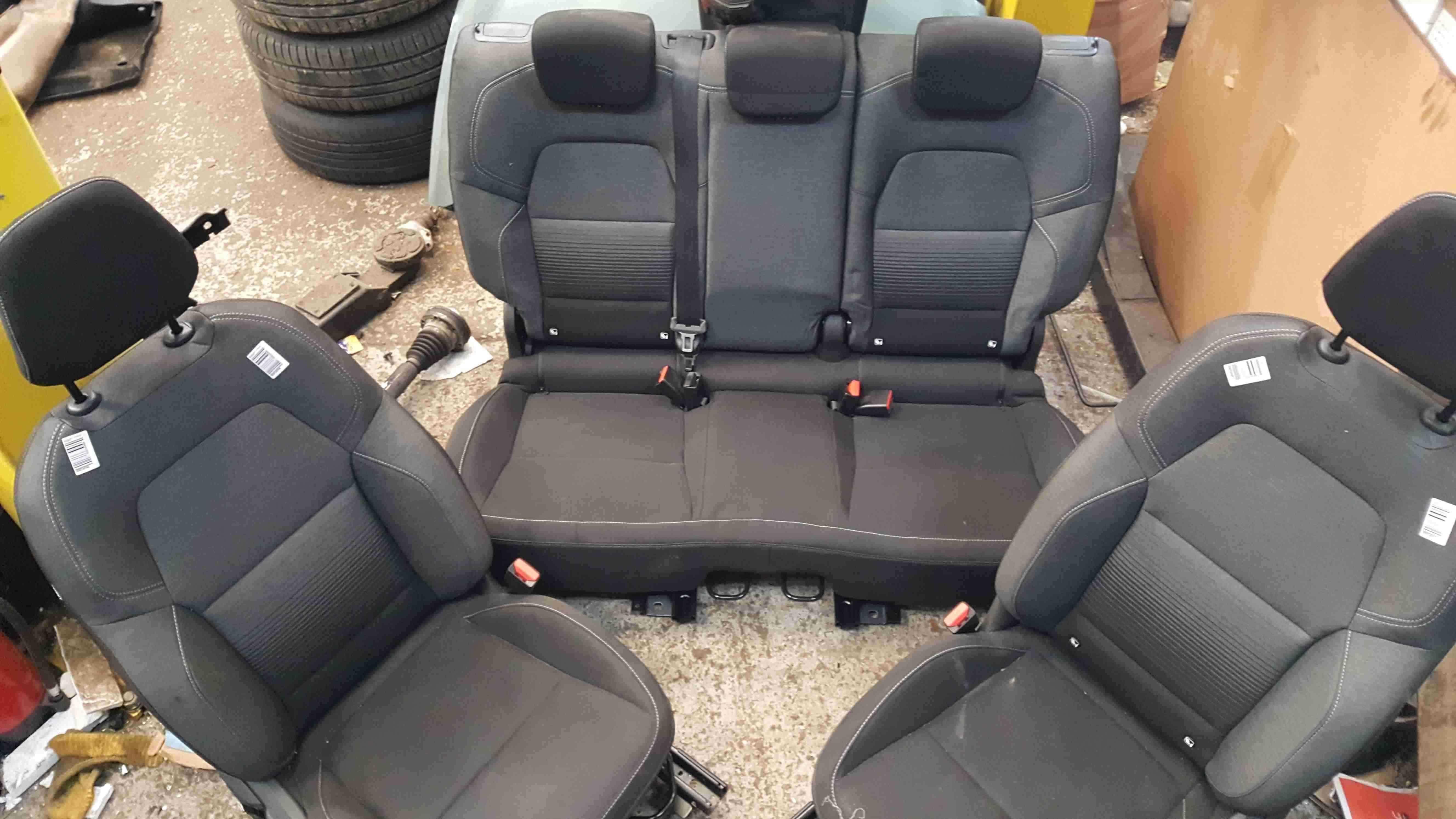 Renault Captur 2019-2021 Interior Set Chairs Seats Door Cards