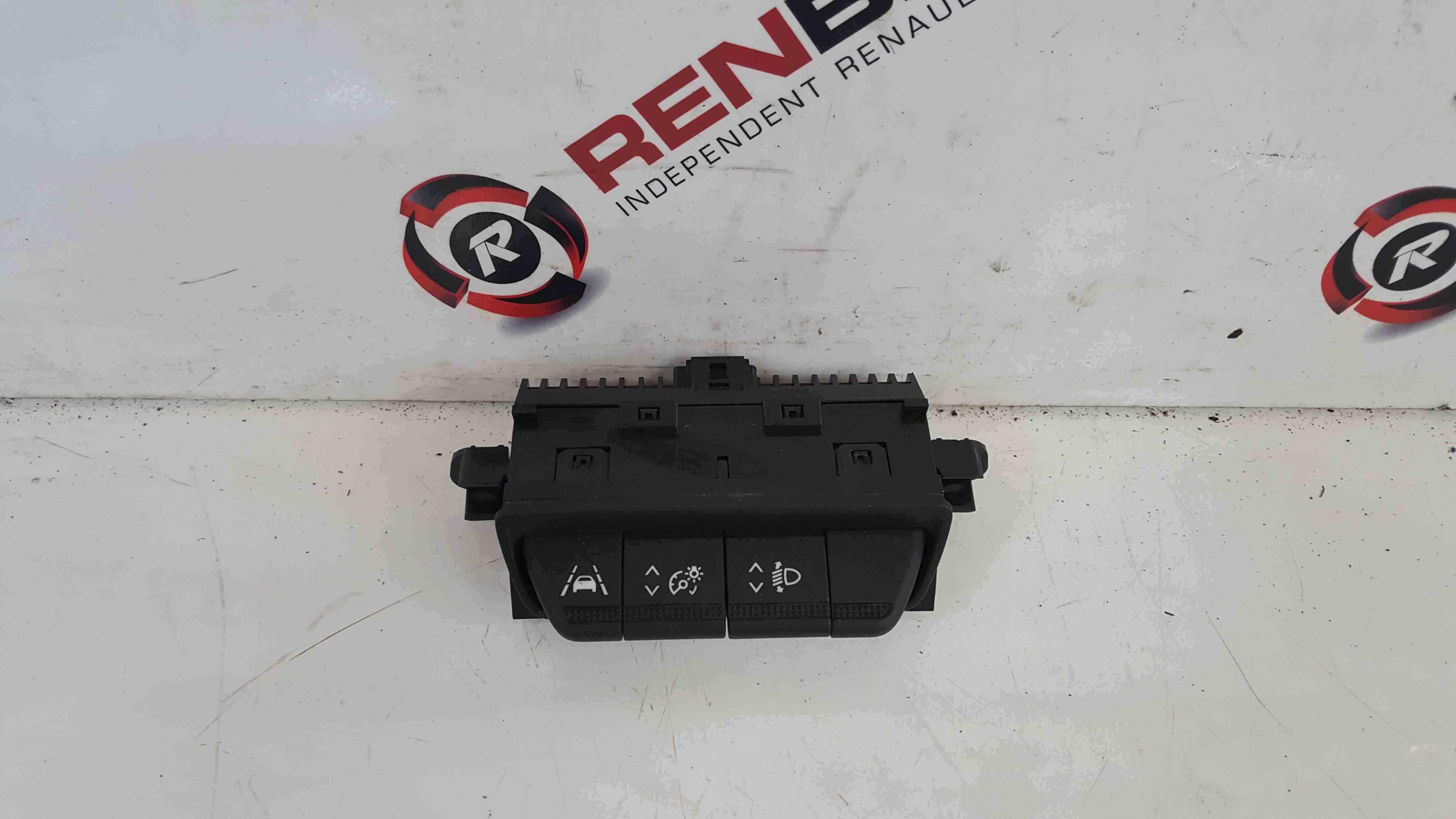 Renault Captur 2019-2021 Lane Stay Light Dimmer Switch 259803780R