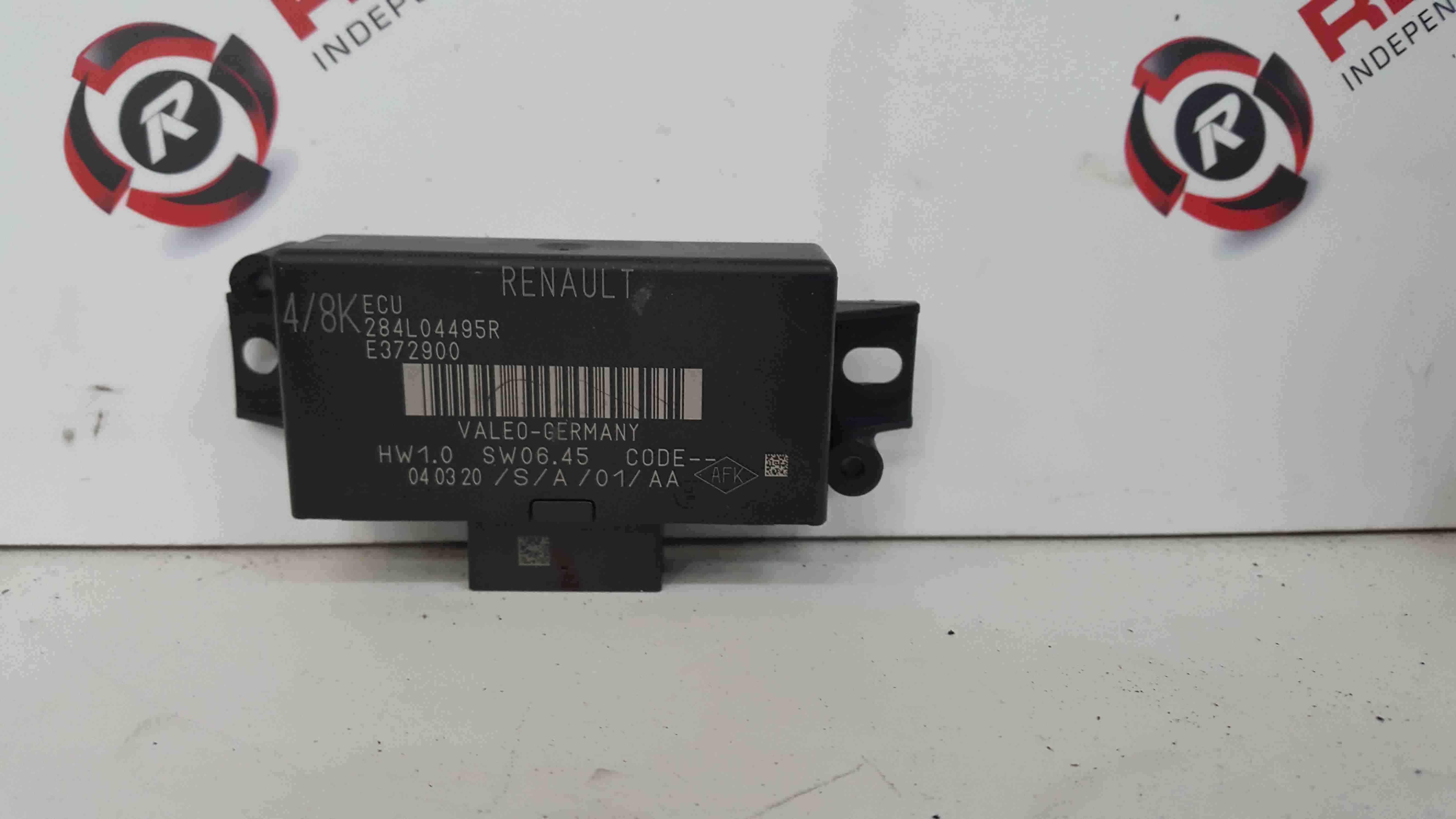 Renault Captur 2019-2021 Parking Aid Control Module Unit 284L04495R