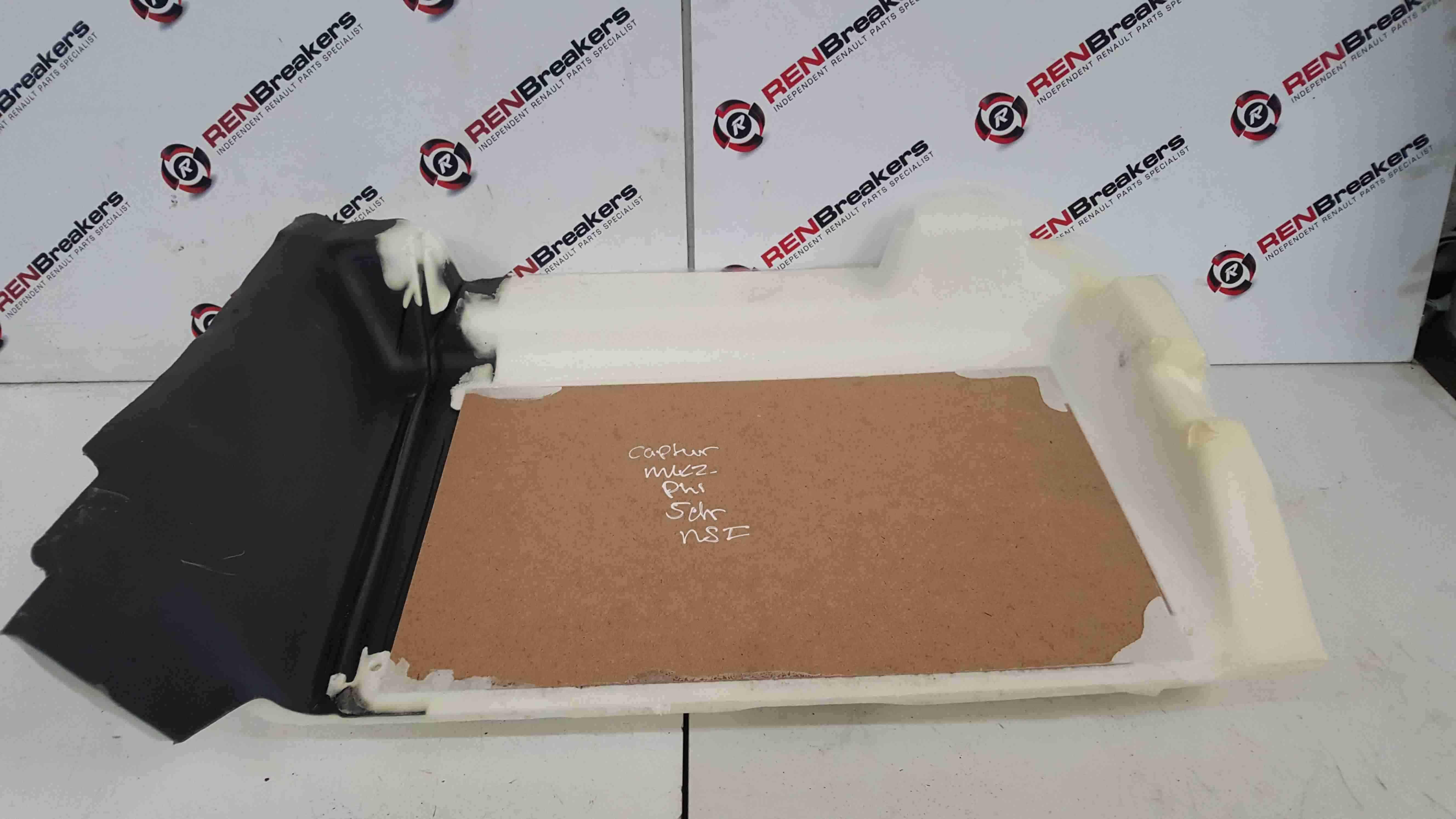 Renault Captur 2019-2021 Passenger NSF Front Trim + Foam Underlay