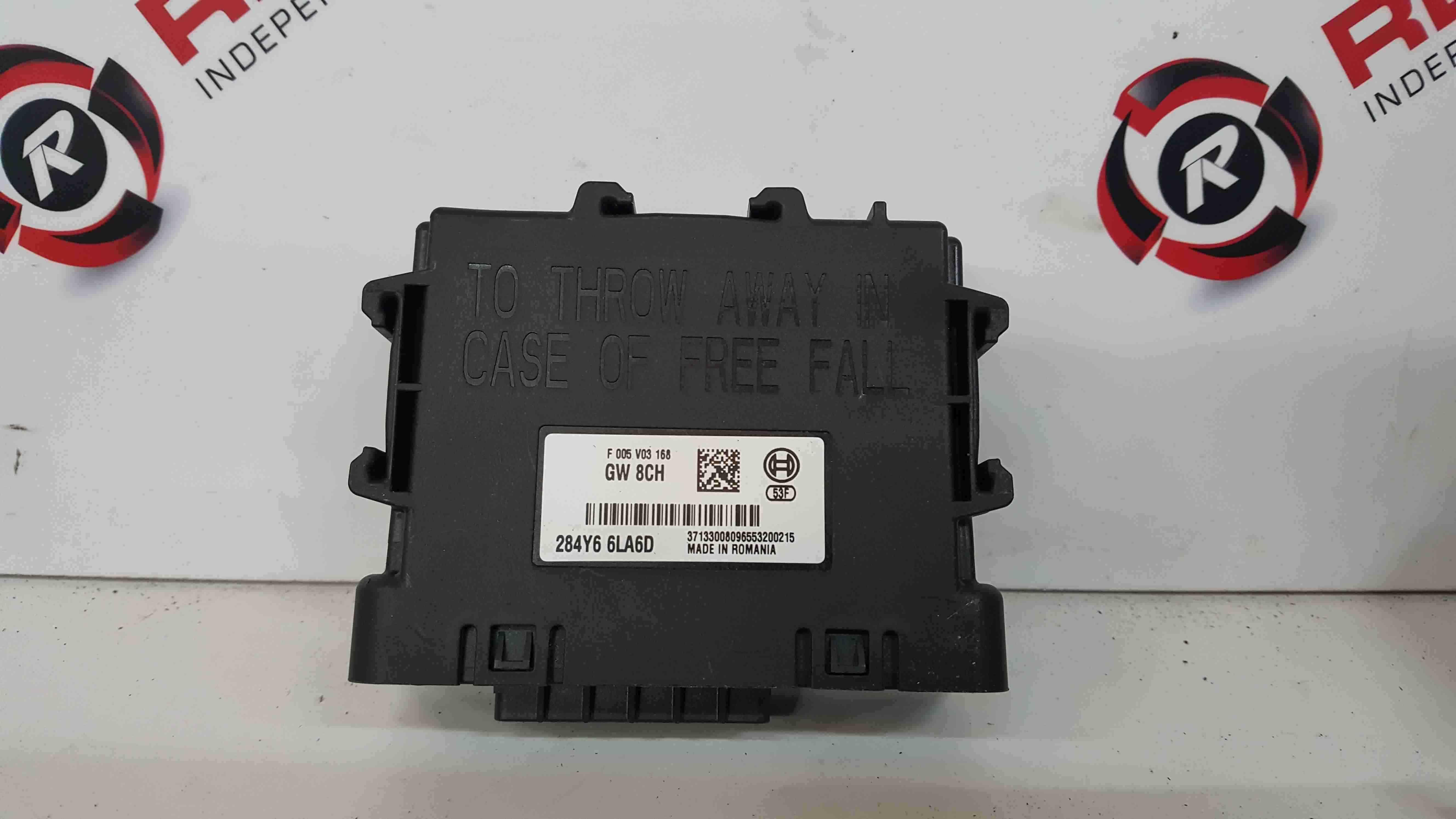 Renault Captur 2019-2021 Relay Control Module 284Y66LA6D