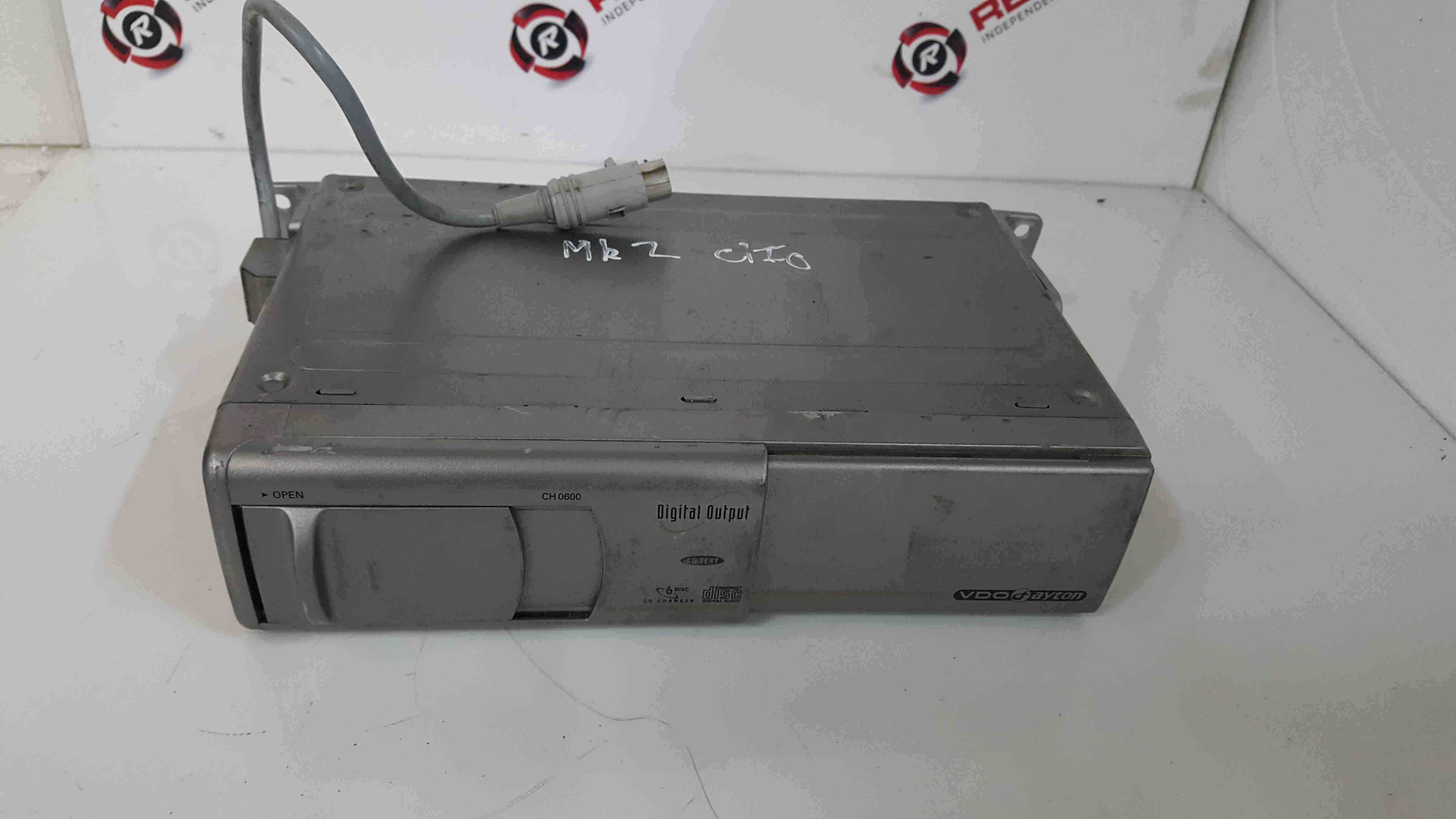 Renault Clio MK2 1998-2001 VDO 6 Disc CD Changer Cartridge CH0600 00
