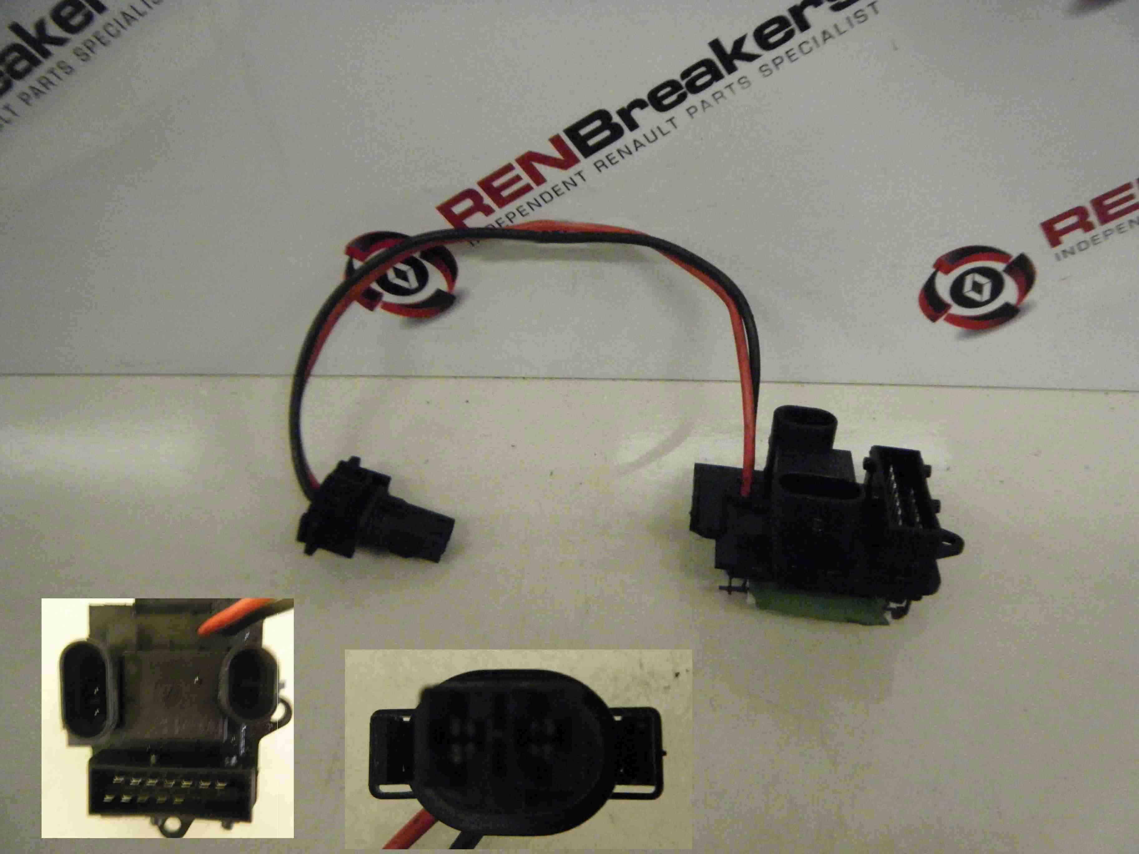 Renault Clio MK2 1998-2001 Heater Blower Motor Resistor