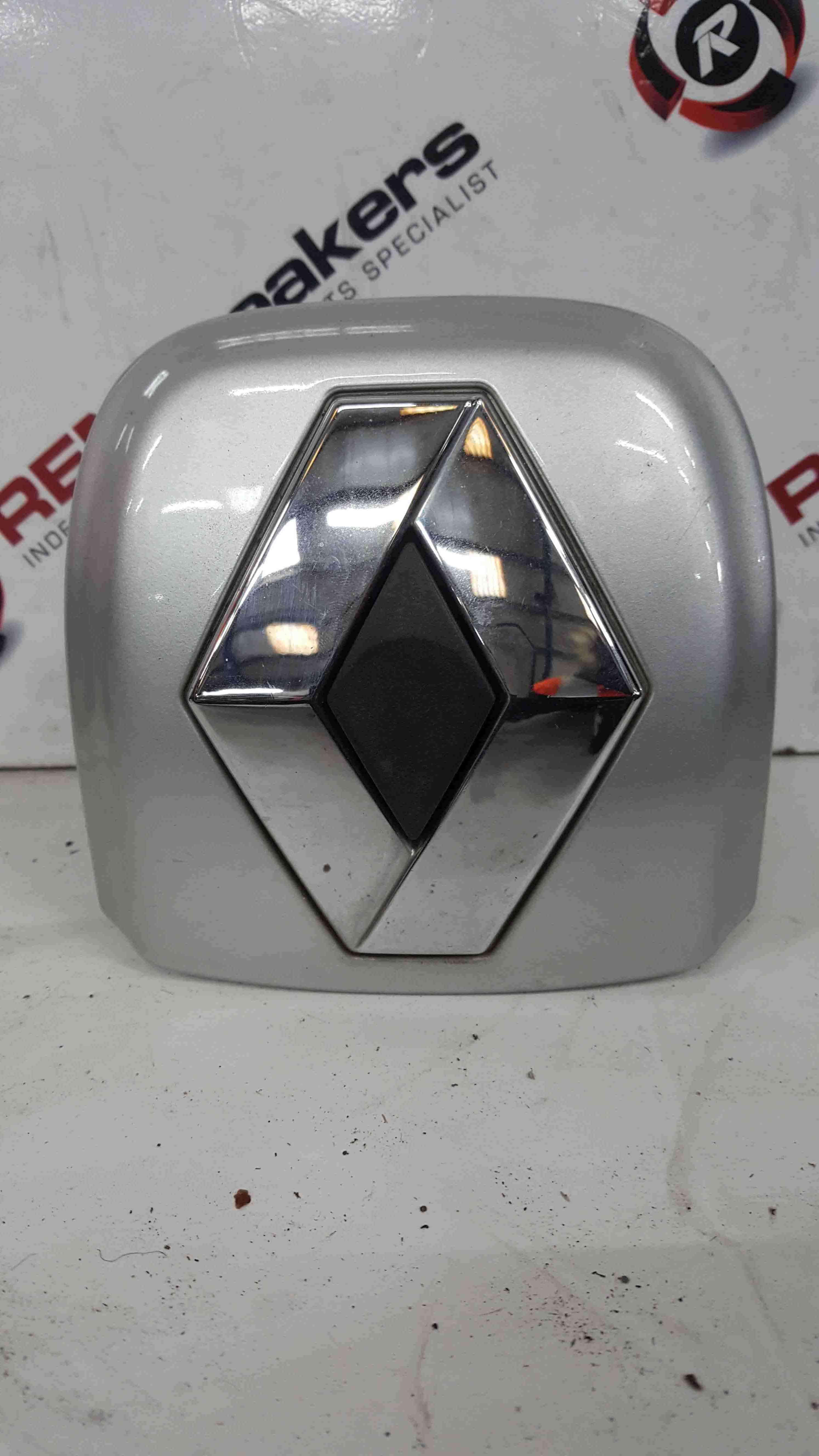 Renault Clio MK2 2001-2006 Rear Boot Button Silver TED69 Diamond