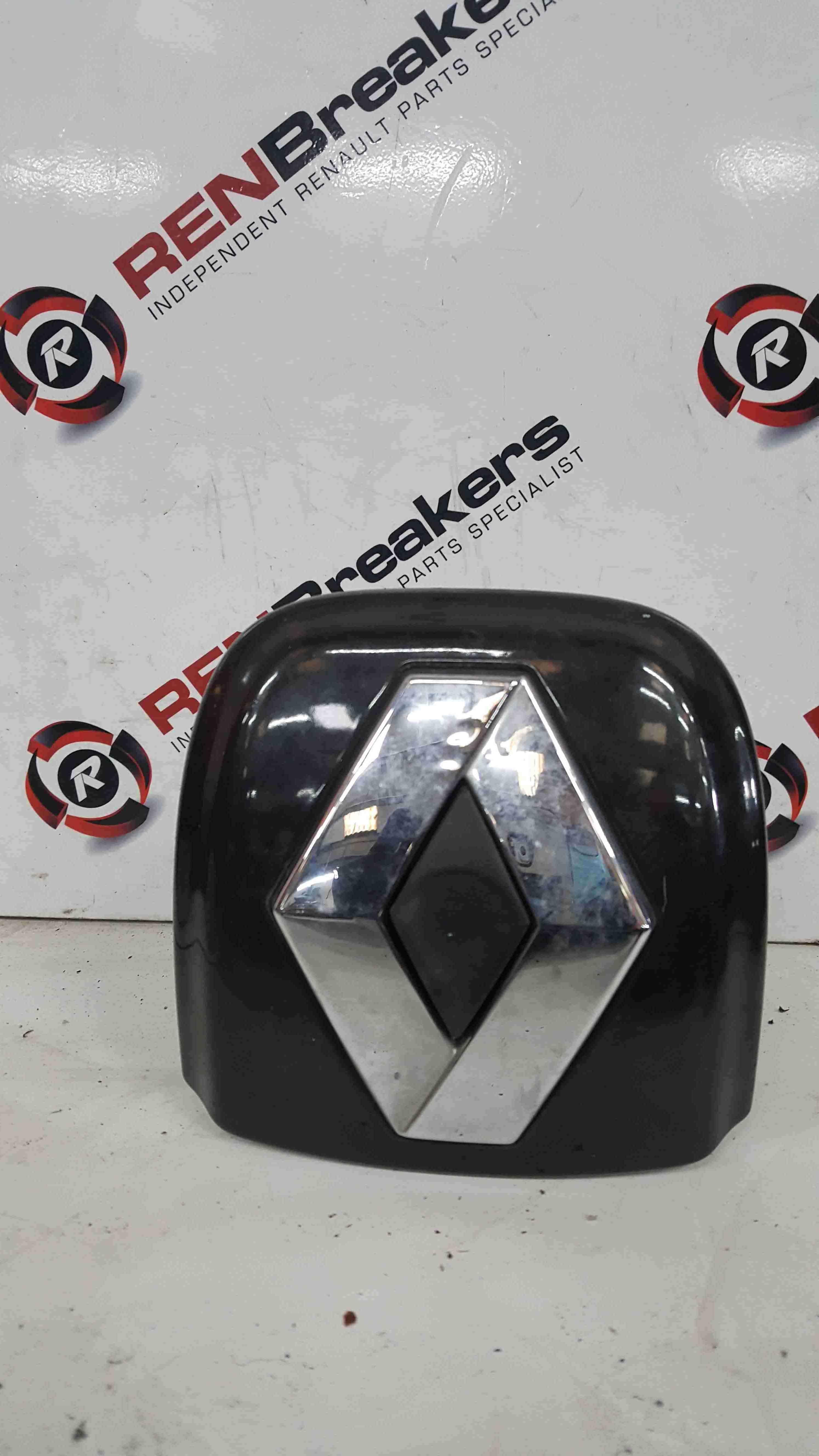 Renault Clio MK2 2001-2006 Rear Boot Tailgate Diamond Boot Button Black