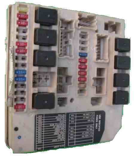 Renault Megane 2005 Engine Bay Fuse Box : Nissan micra  engine bay fuse box upc unit