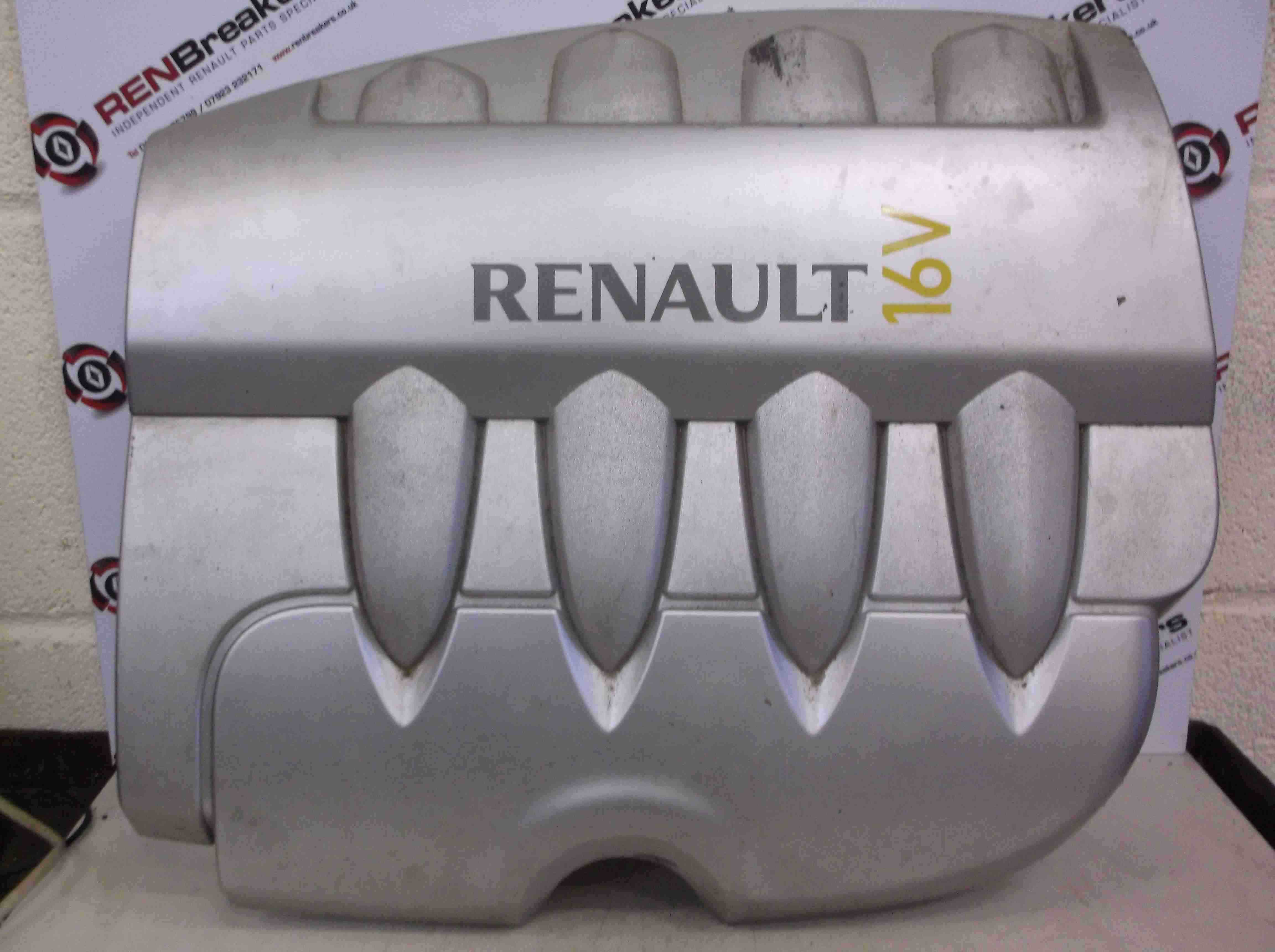 renault clio mk3 2005 2009 1 4 16v engine cover plastic store renault breakers used. Black Bedroom Furniture Sets. Home Design Ideas