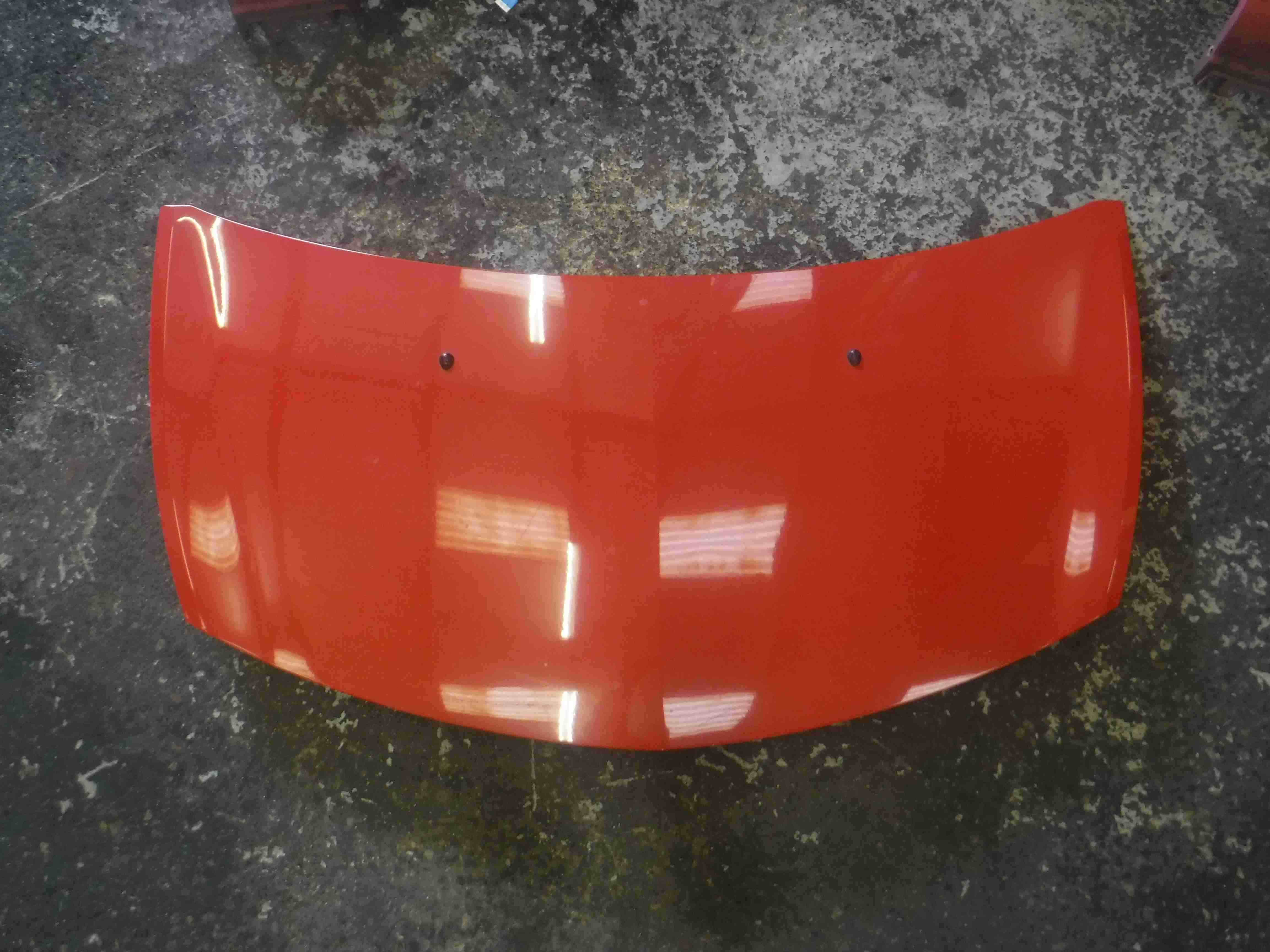 Renault Clio MK3 2005-2009 Front Bonnet Hood Red TED75