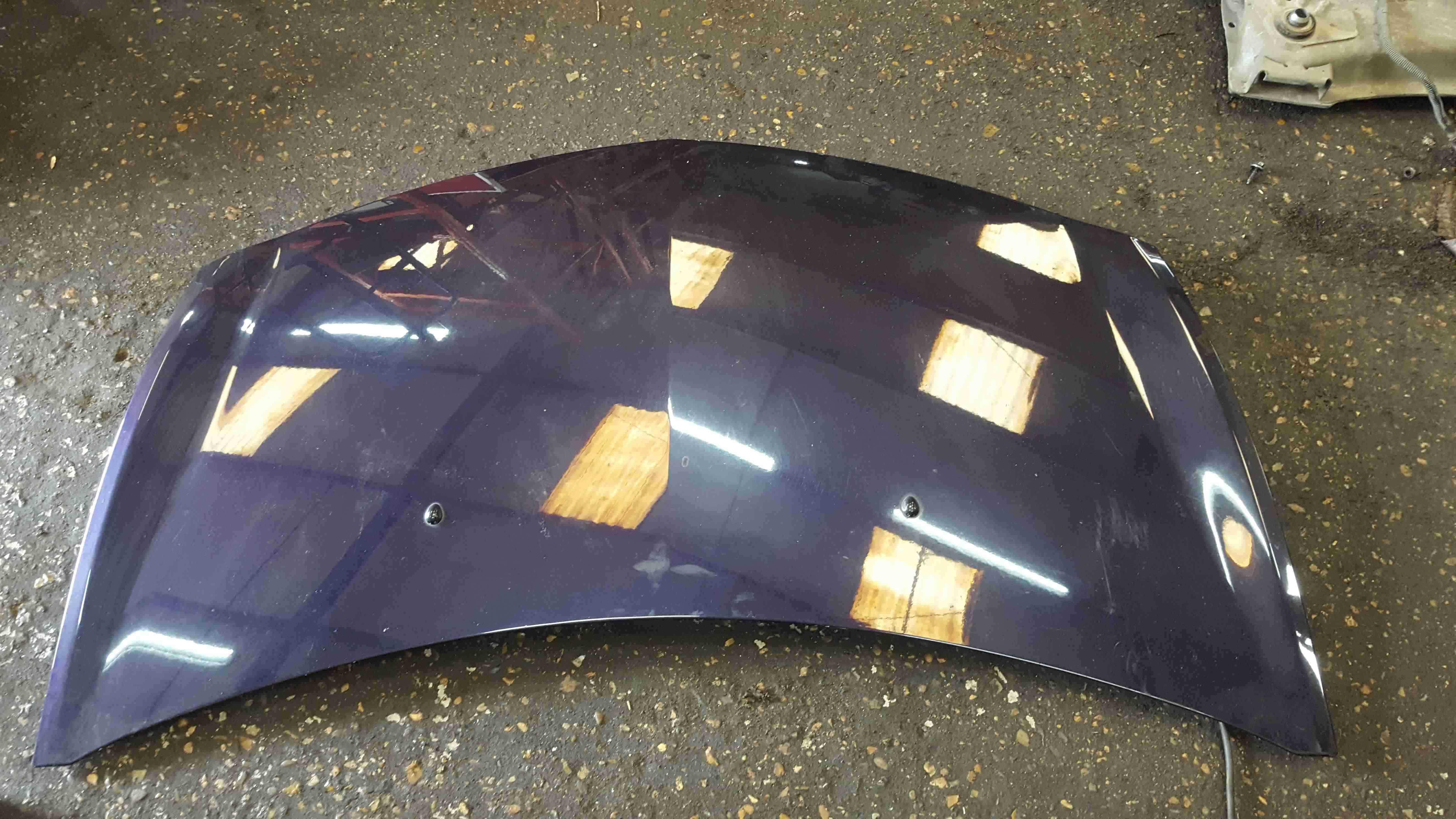 Renault Clio MK3 2005-2009 Front Bonnet Purple TE268