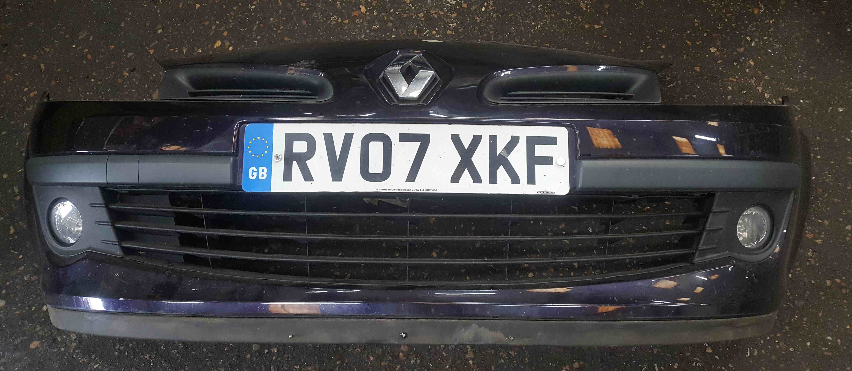 Renault Clio MK3 2005-2009 Front Bumper Purple TE268 195