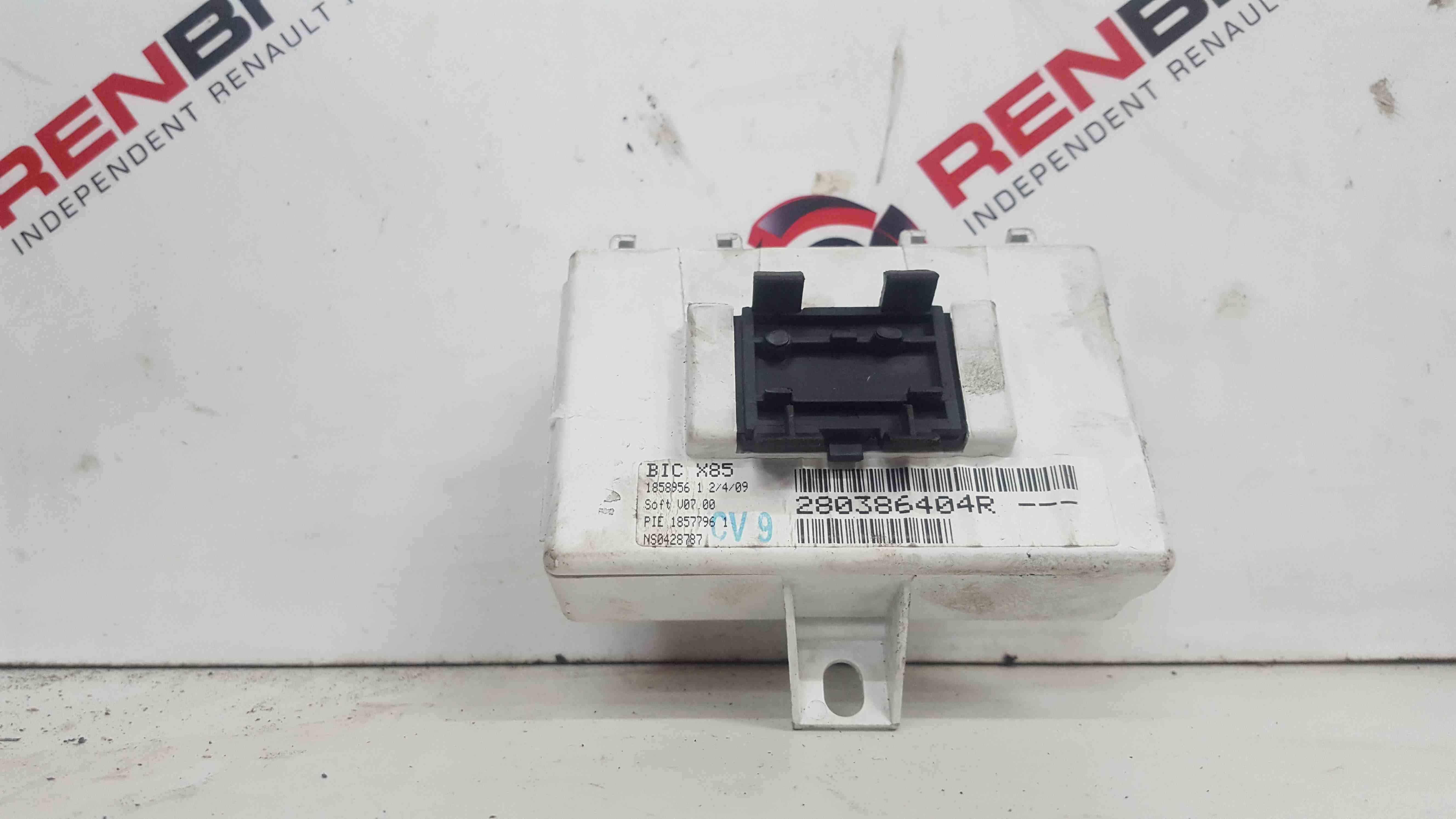 Renault Clio MK3 2005-2012 Control Module 280386404R