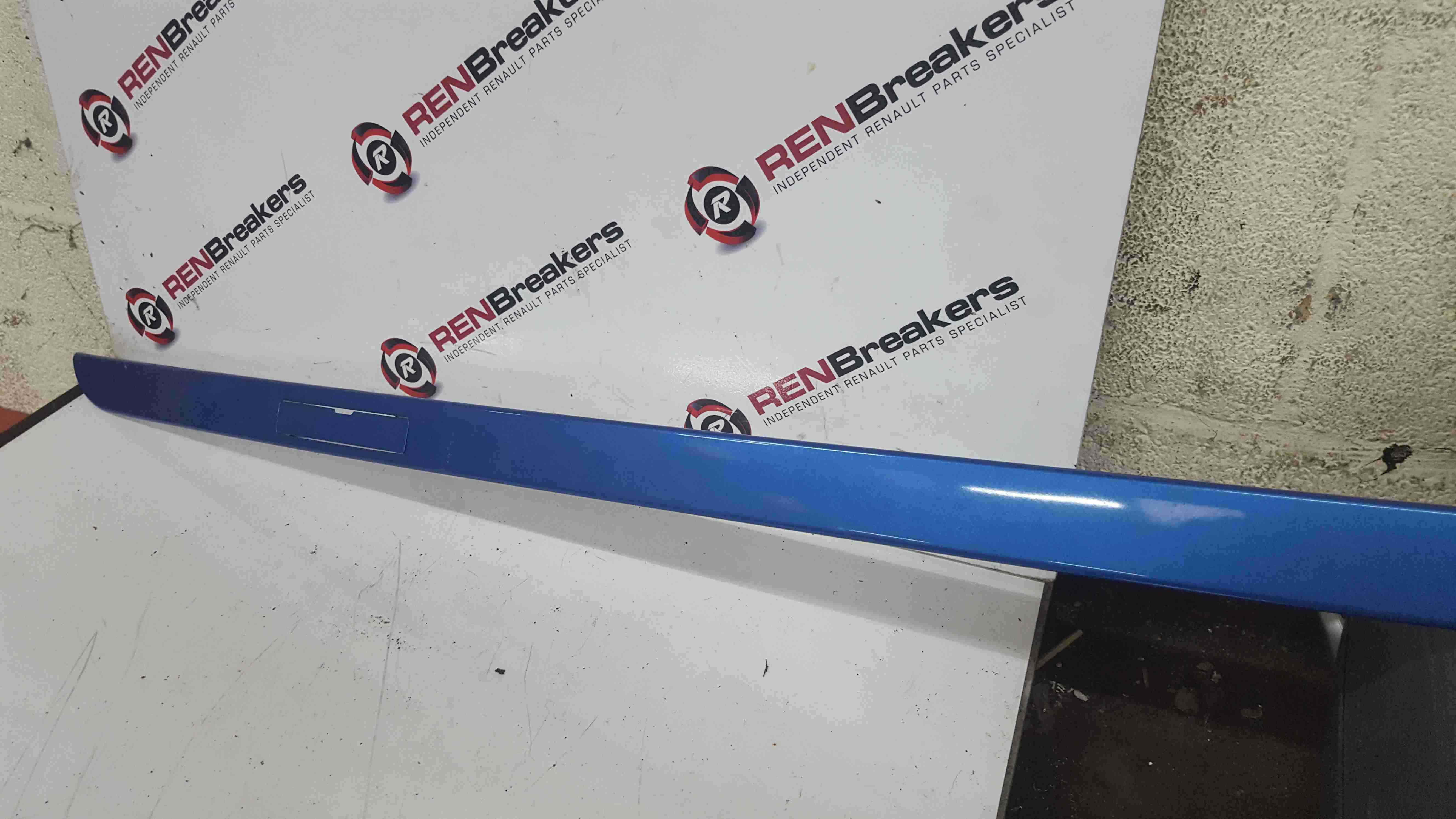 Renault Clio MK3 2005-2012 Drivers OS Roof Panel Blue TERNC