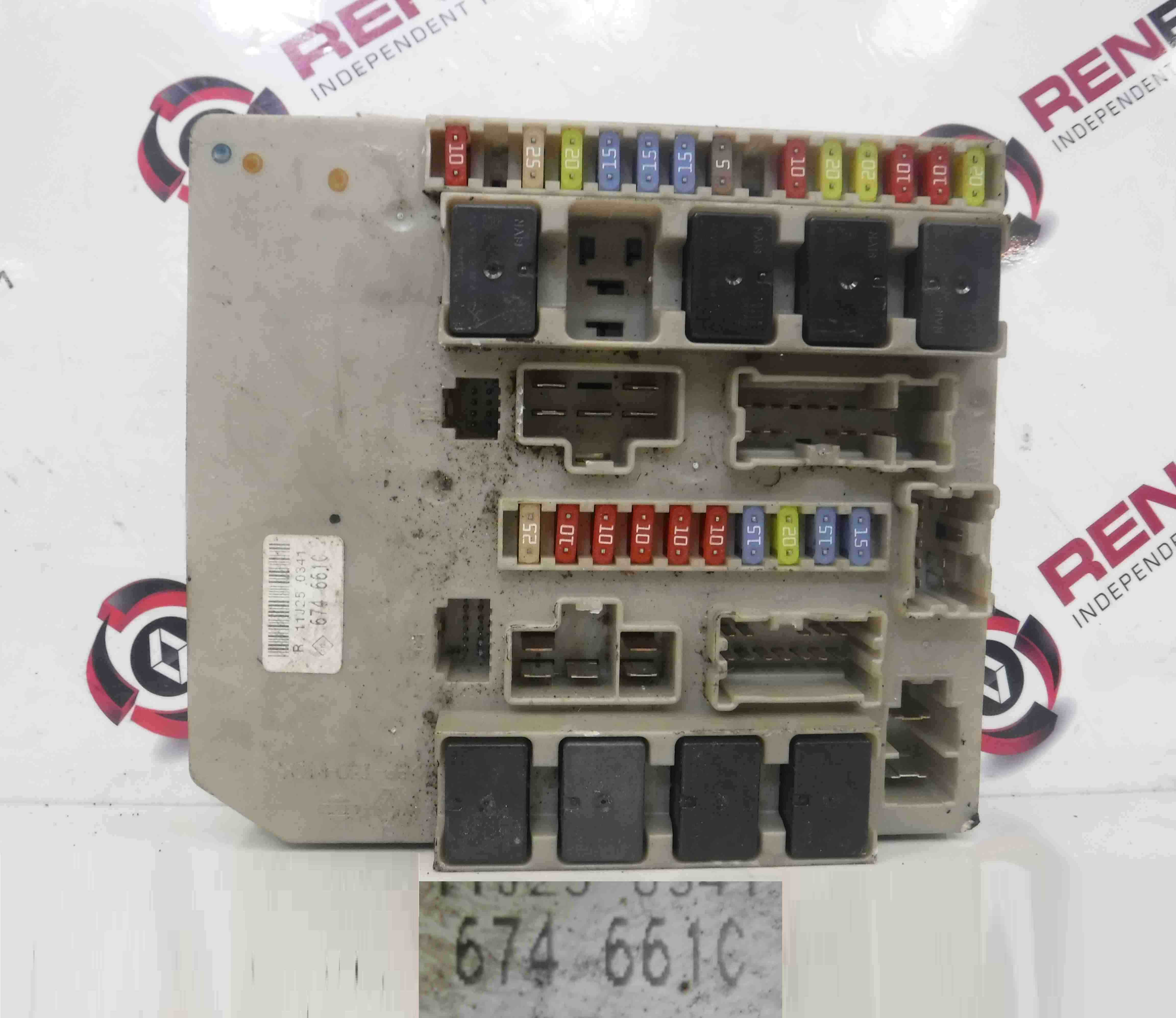 Renault 4 Fuse Box Wiring Schematic 2019 On A Clio Mk3 2005 2012 Engine Upc Unit 674661 Espace