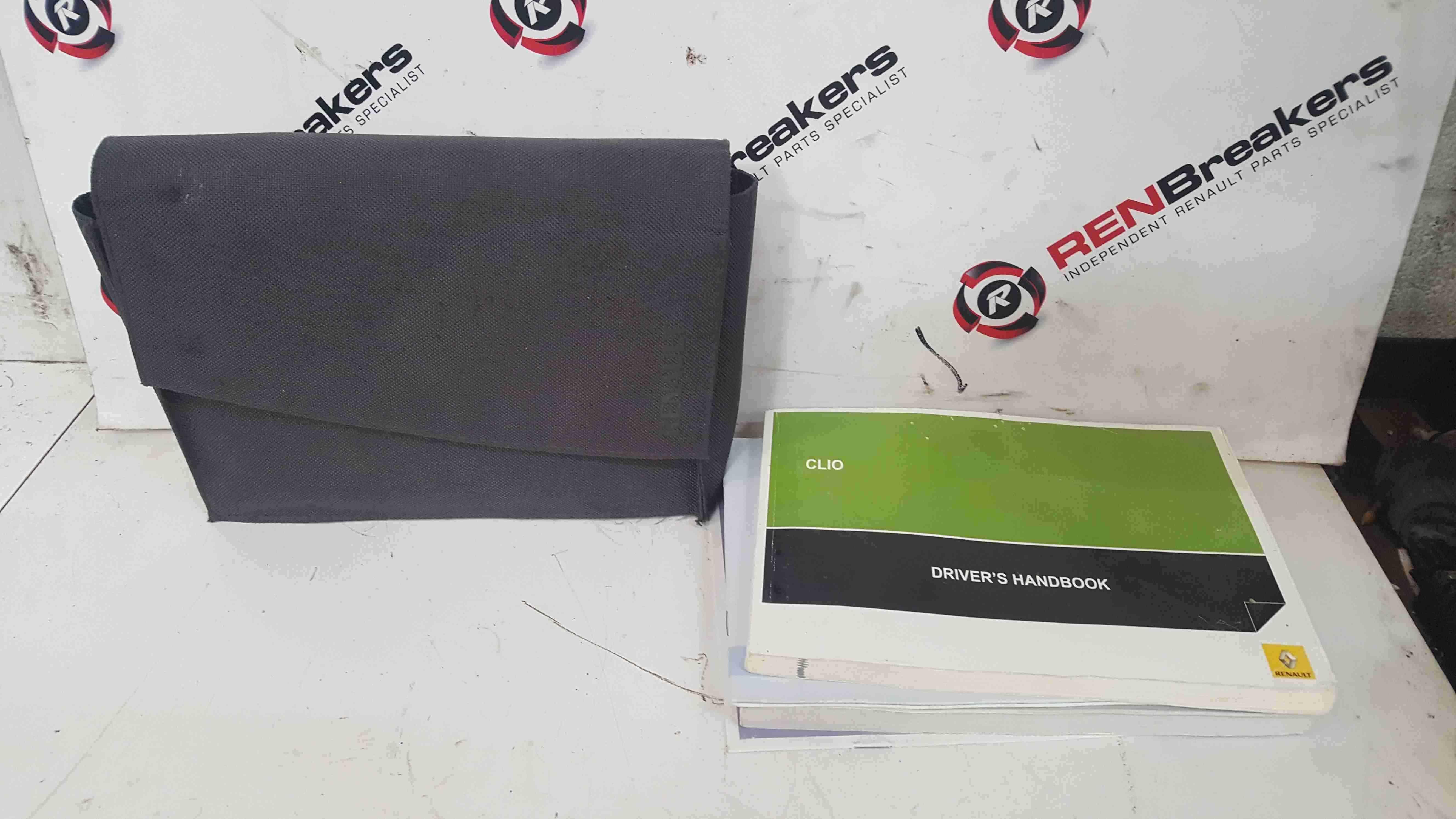 Renault Clio MK3 2005-2012 Handbook Document Wallet