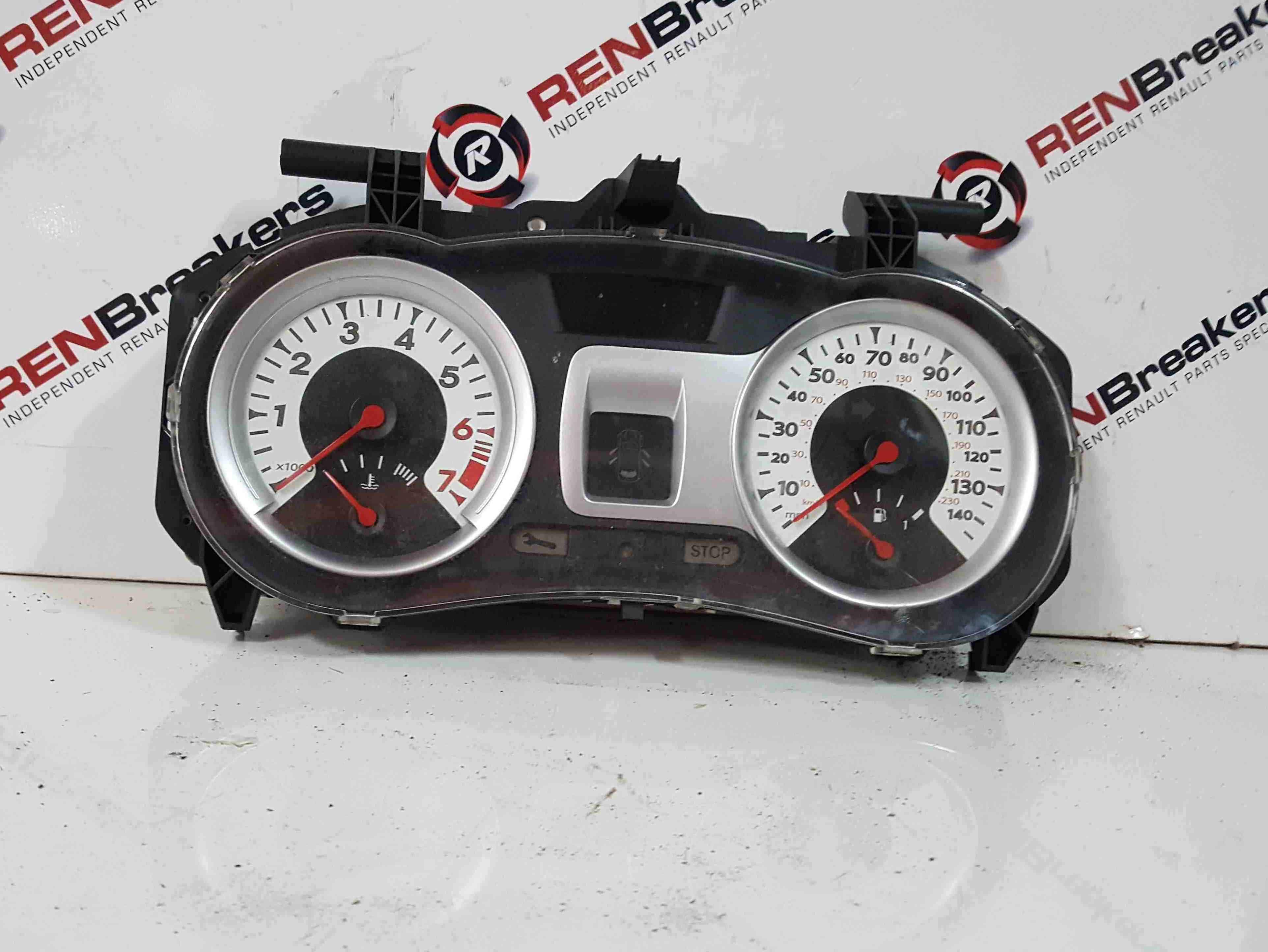 Renault Clio MK3 2005-2012 Instrument Panel Dials Clocks 133K 8200859342