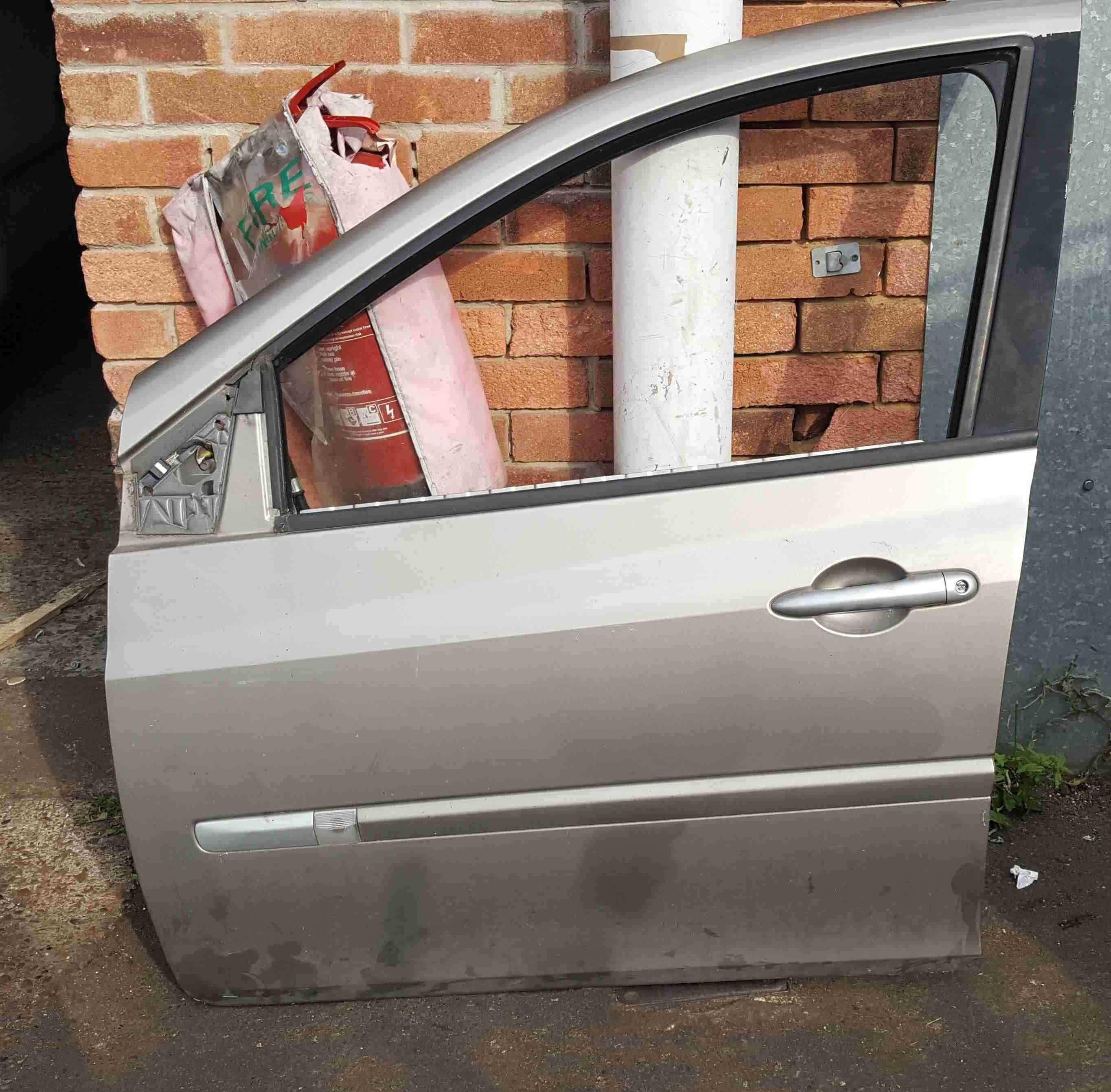 Renault Clio MK3 2005-2012 Passenger NSF Front Door Beige Gold TEHNK 5dr