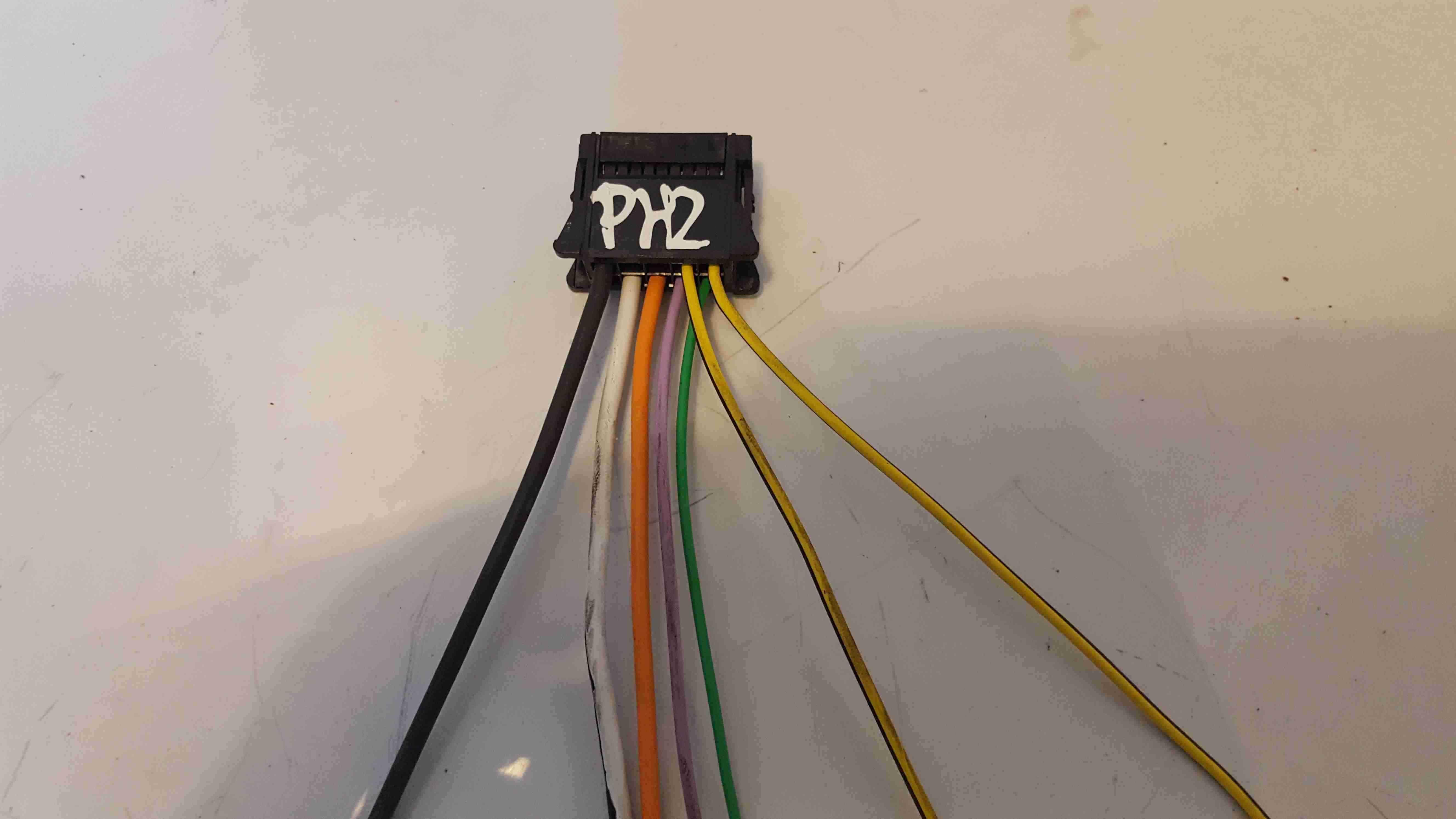 Renault Clio MK3 2009-2012 Heater Motor Resistor Repair Loom 7 Wires