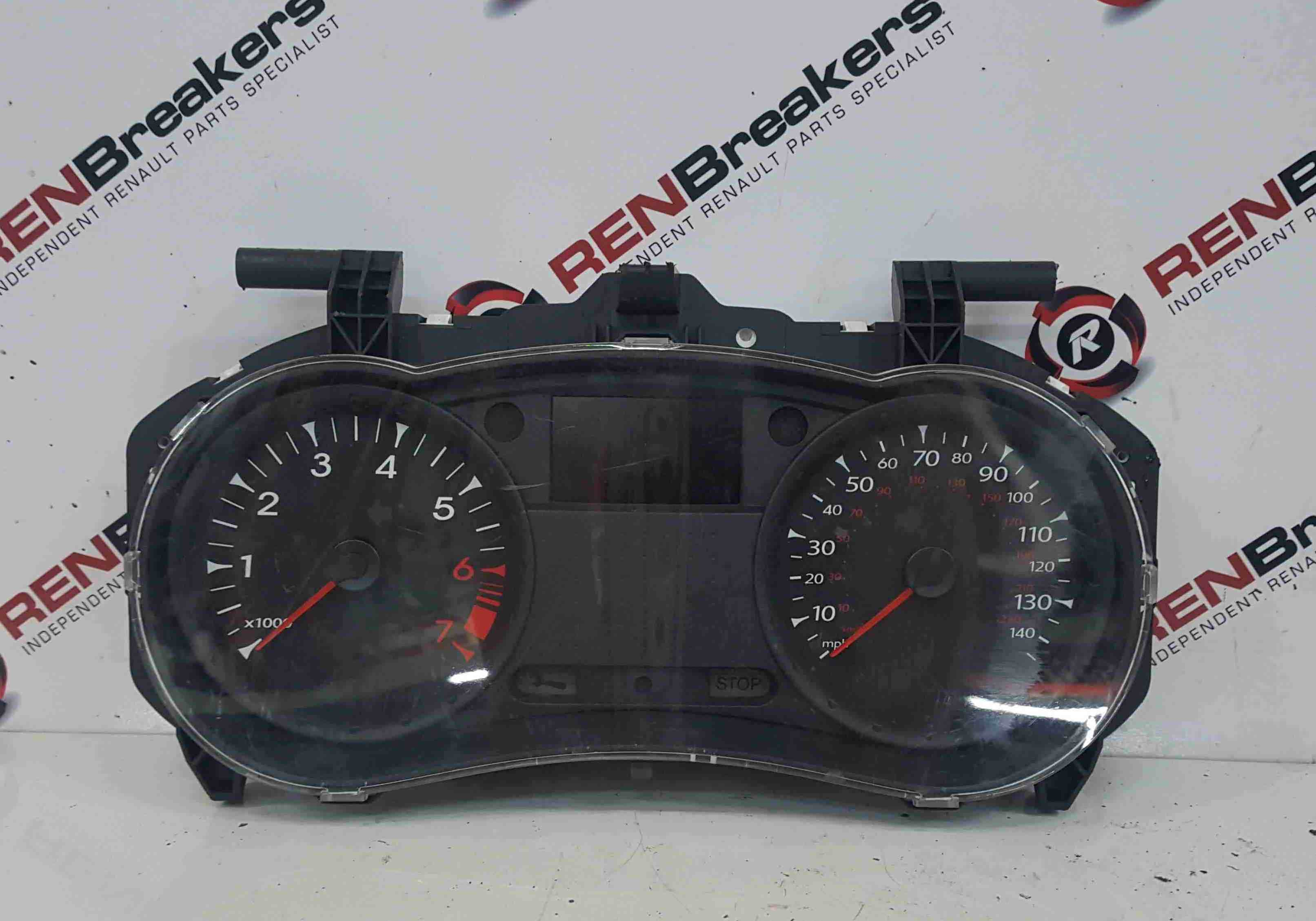Renault Clio MK3 2009-2012 Instrument Panel Dials Gauges Clocks 8201060288