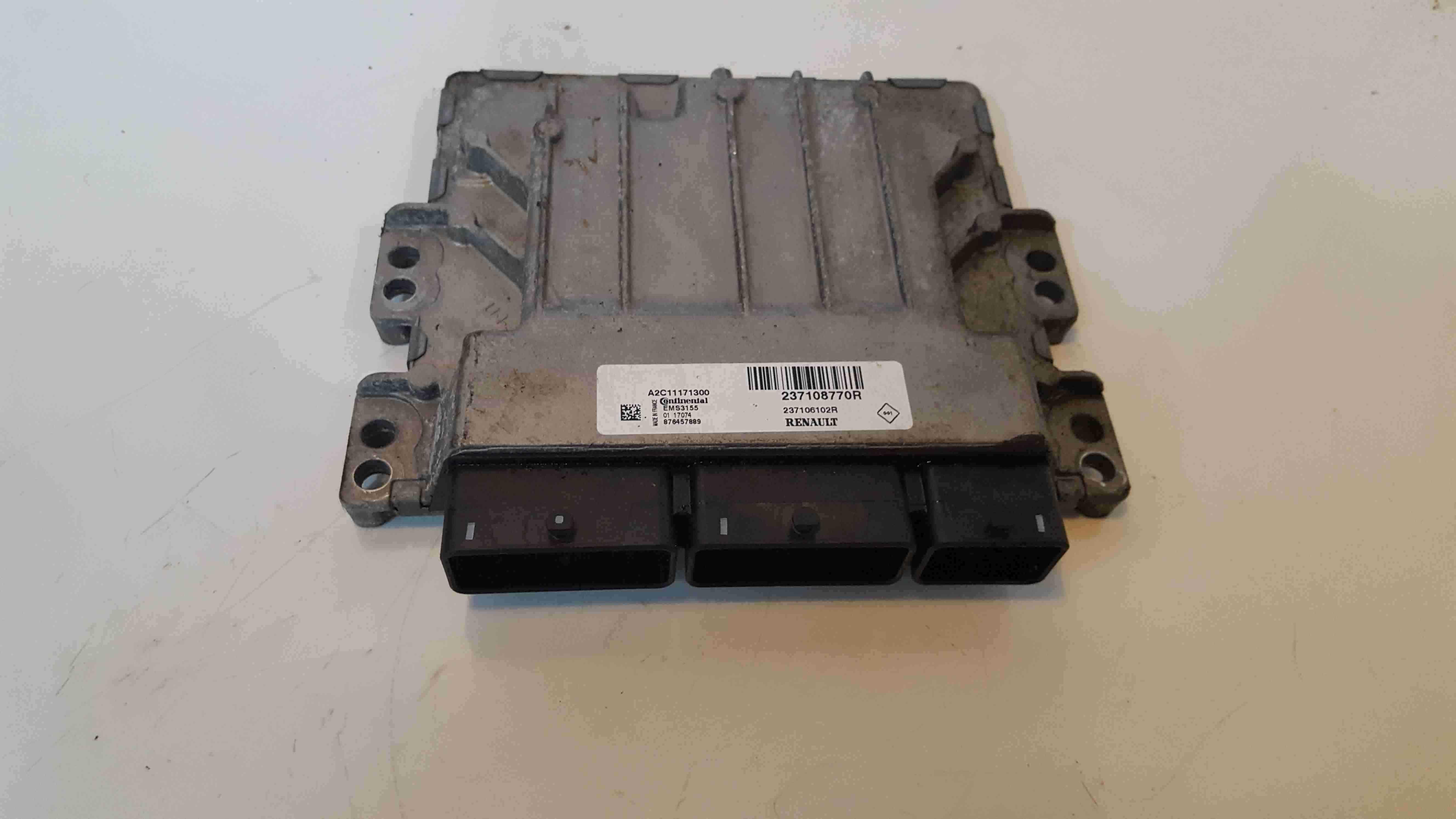 Renault Clio MK4 2013-2018 1.2 Engine Control Unit ECU Computer 237108770R