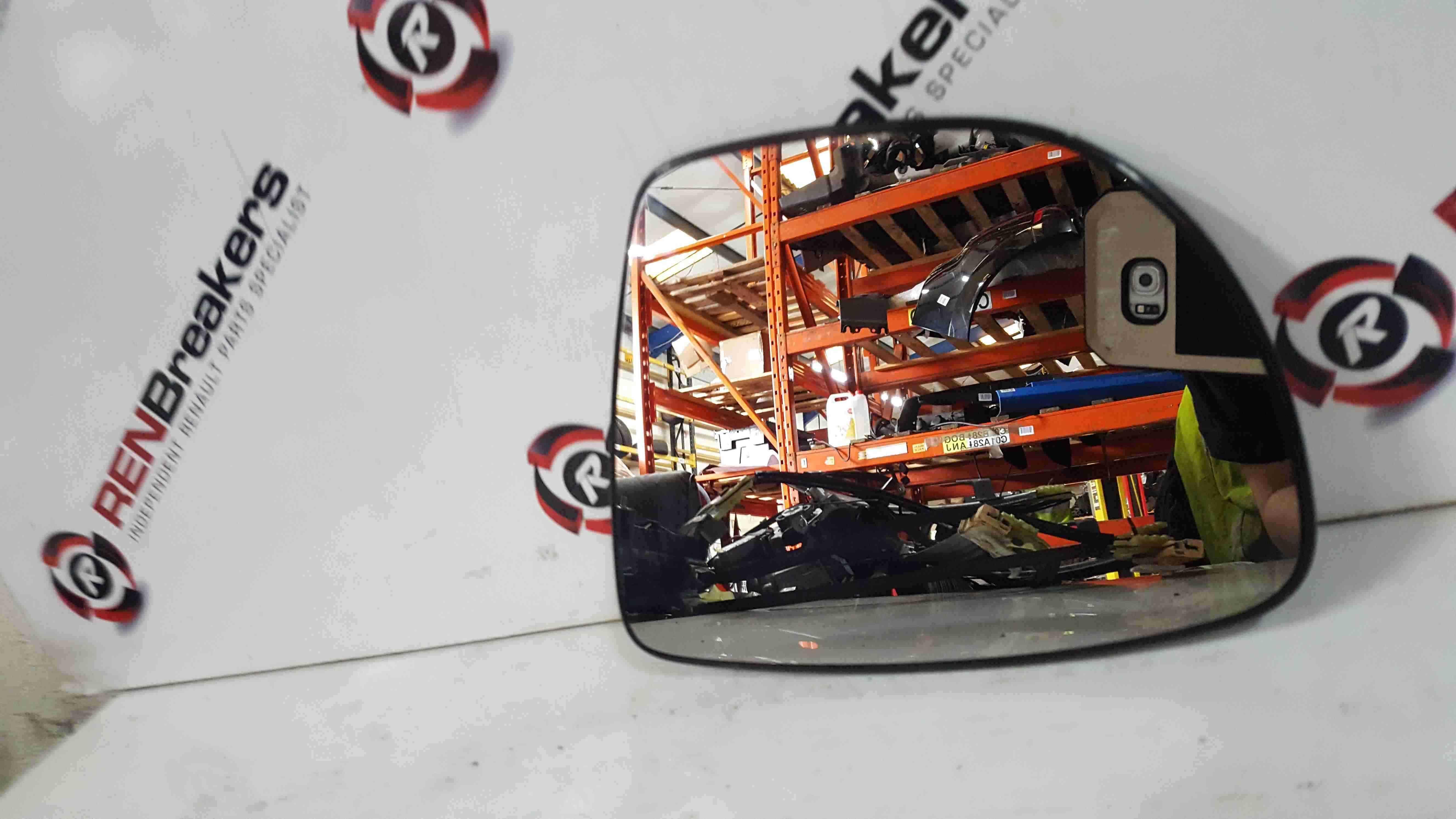 Renault Clio MK4 2013-2018 Passenger NSF Front Mirror Glass