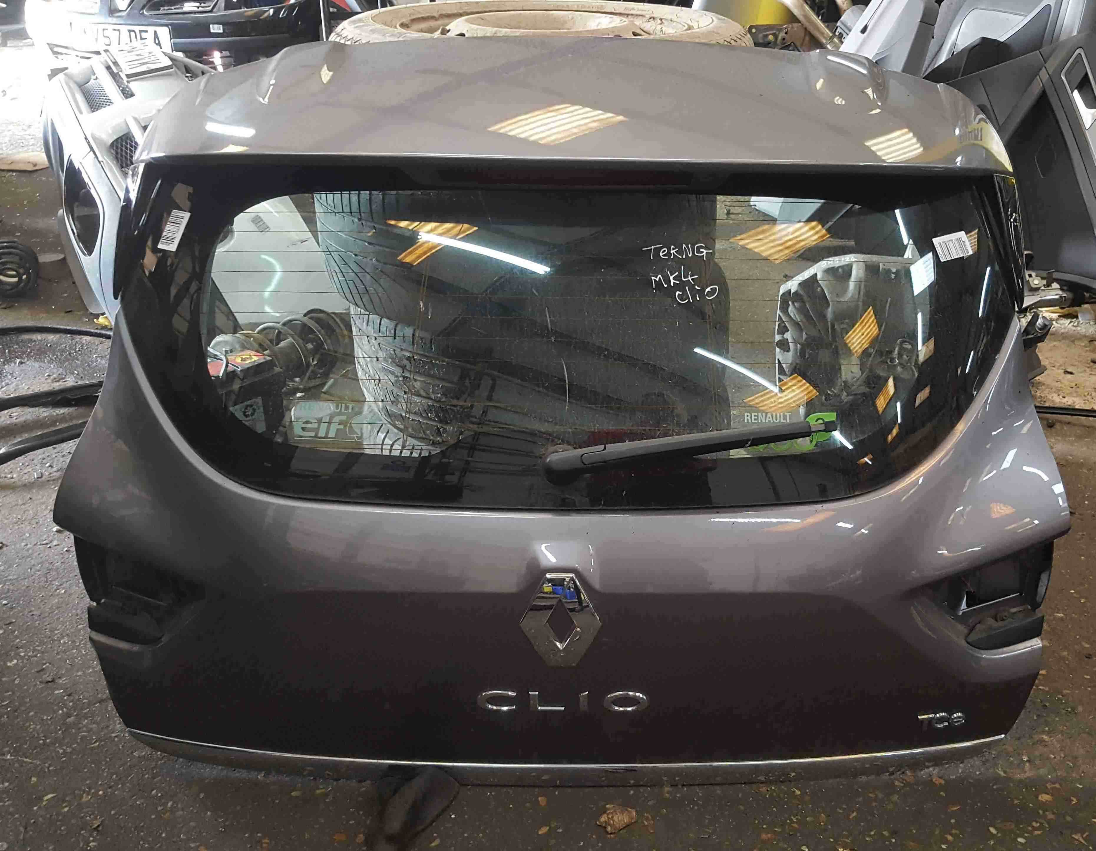 Renault Clio MK4 2013-2018 Rear Tailgate Boot Grey TEKNG