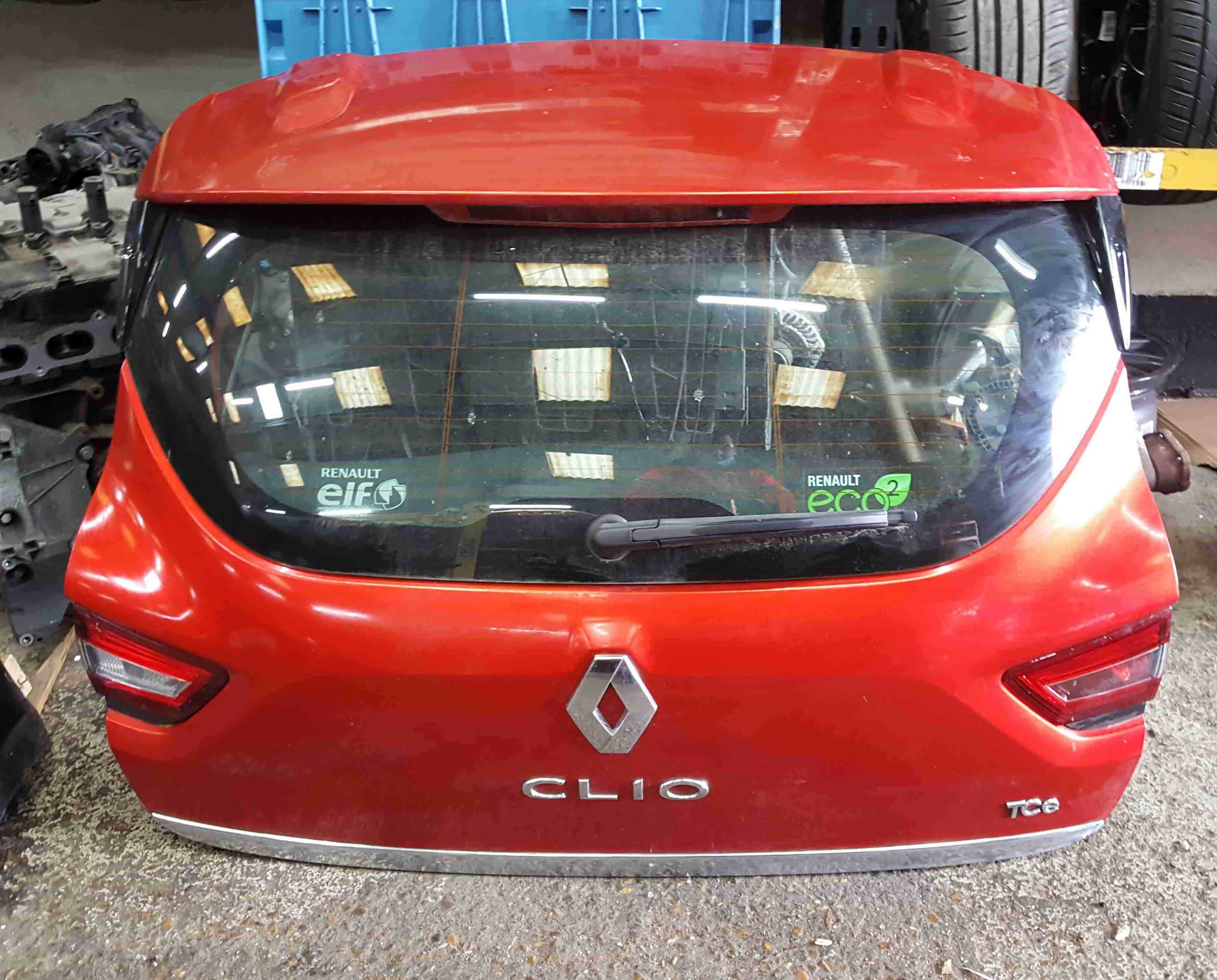 Renault Clio MK4 2013-2018 Rear Tailgate Boot Red TENNP