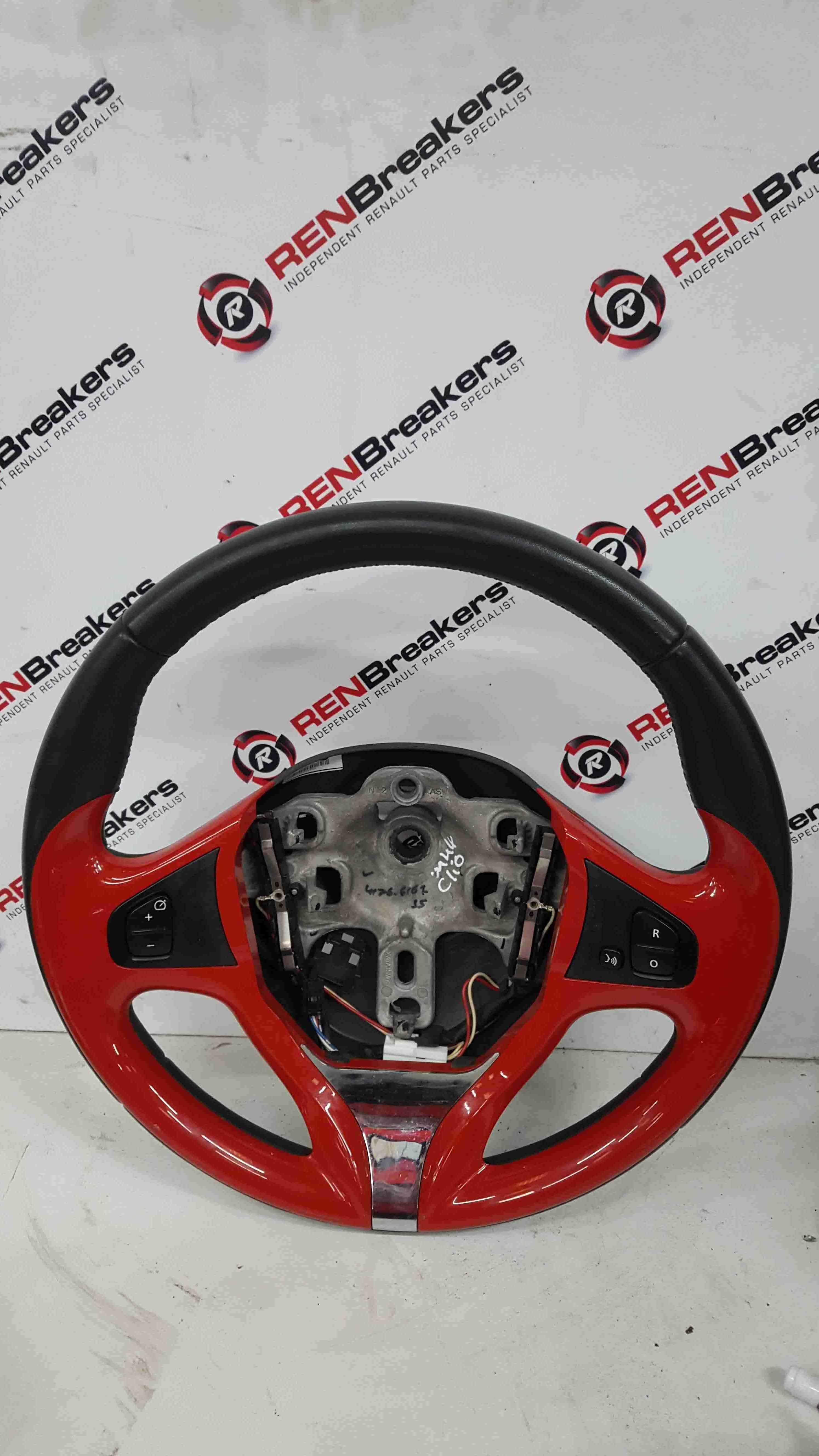 Renault Clio MK4 2013-2018 Steering Wheel Red Cruise 484006096R