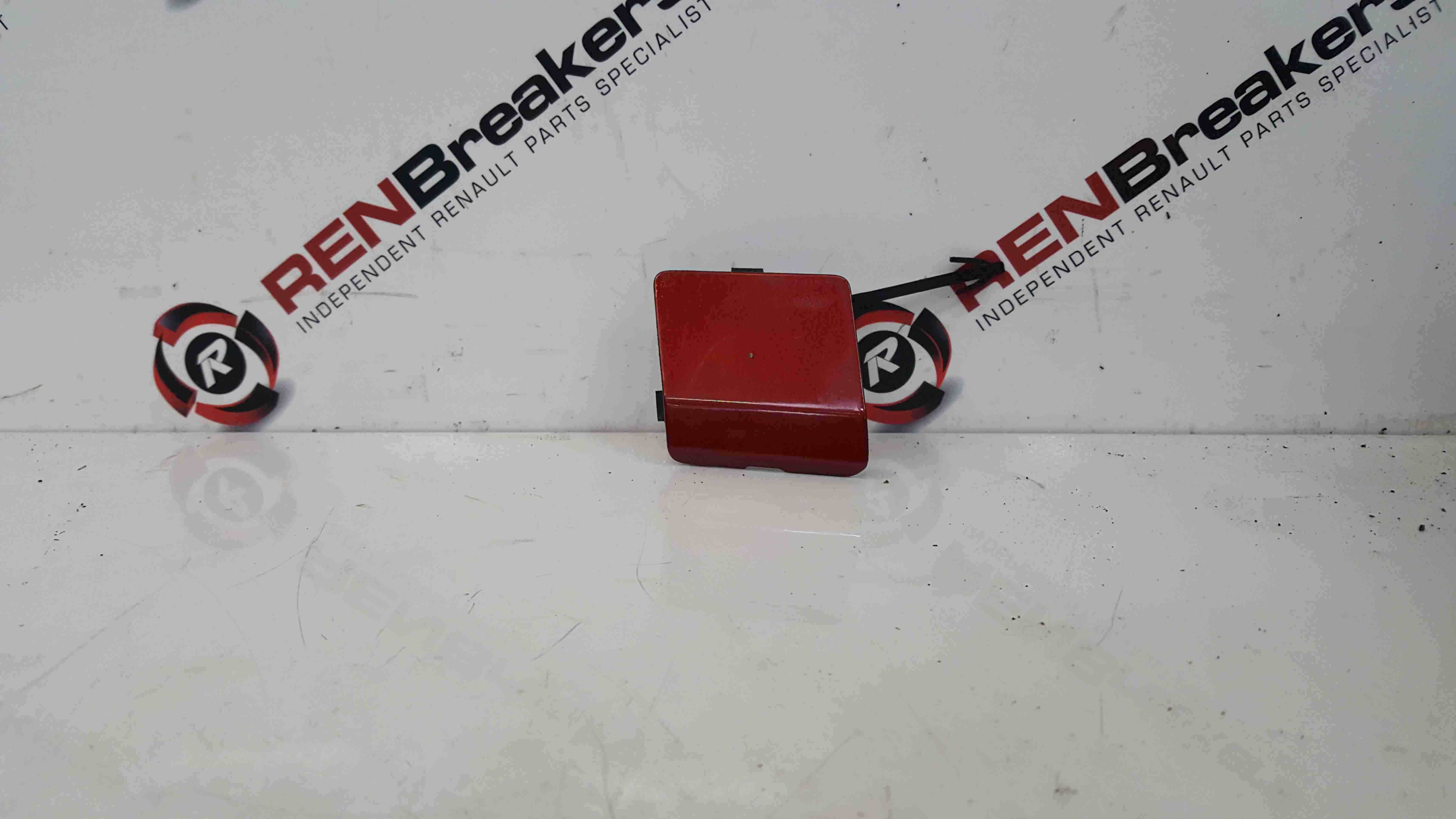 Renault Clio MK4 2013-2018 Towing Eye Bumpber Cover Red TENPK