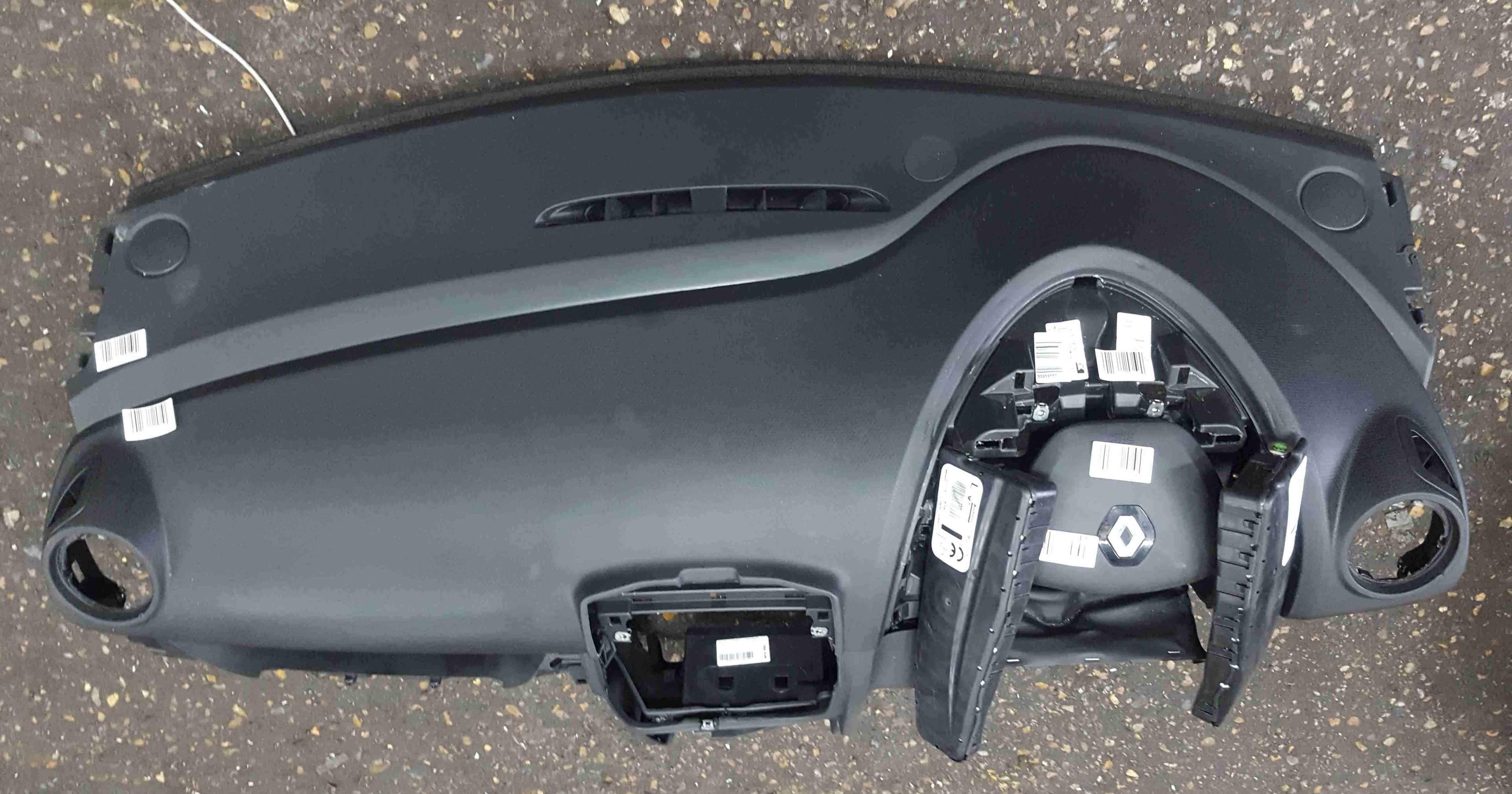 Renault Clio MK4 2013-2019 Main Dashboard Airbag Kit 985H16834R
