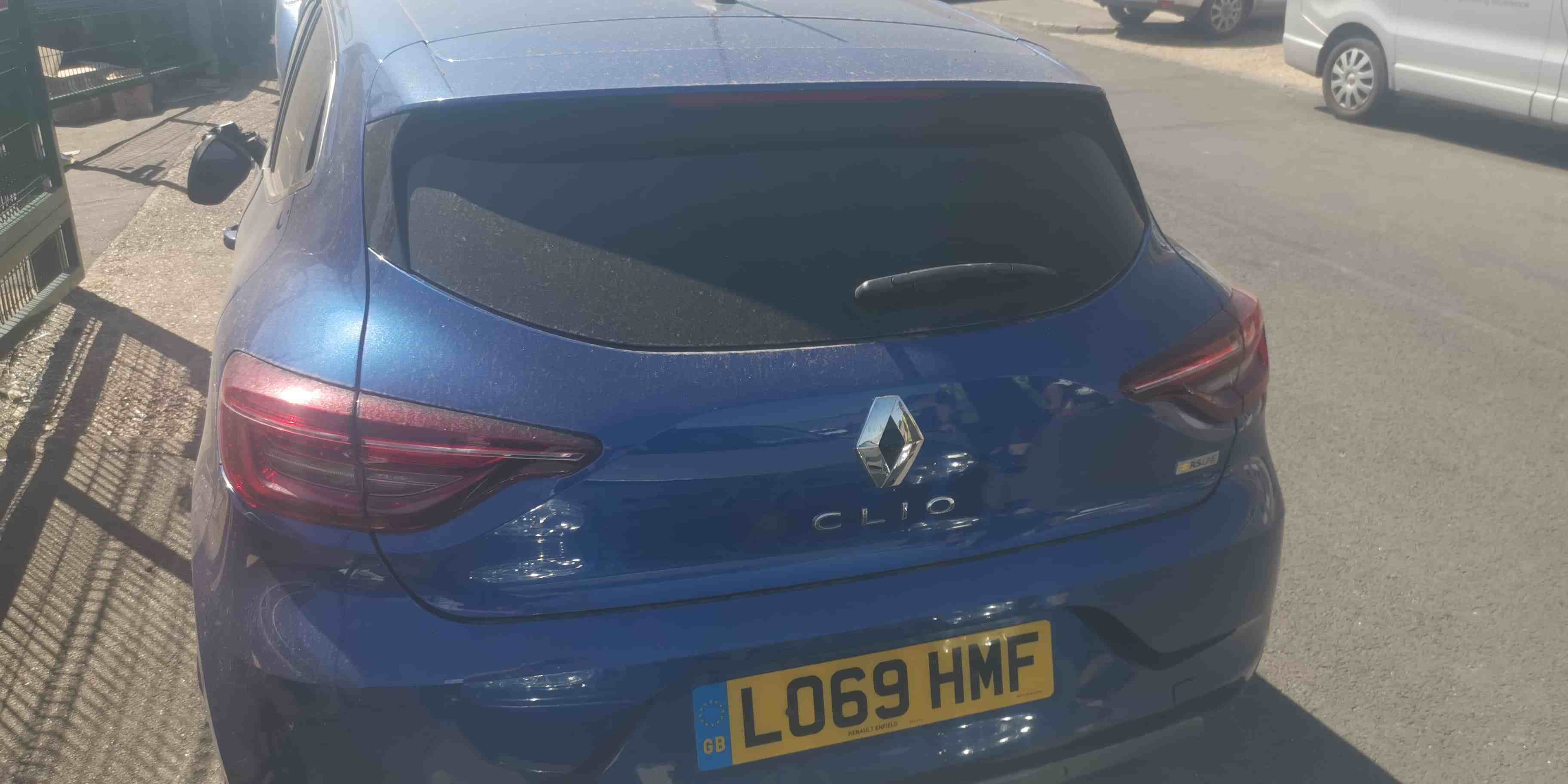 Renault Clio MK5 RS 2019-2021 Boot Tailgate Blue TERQH
