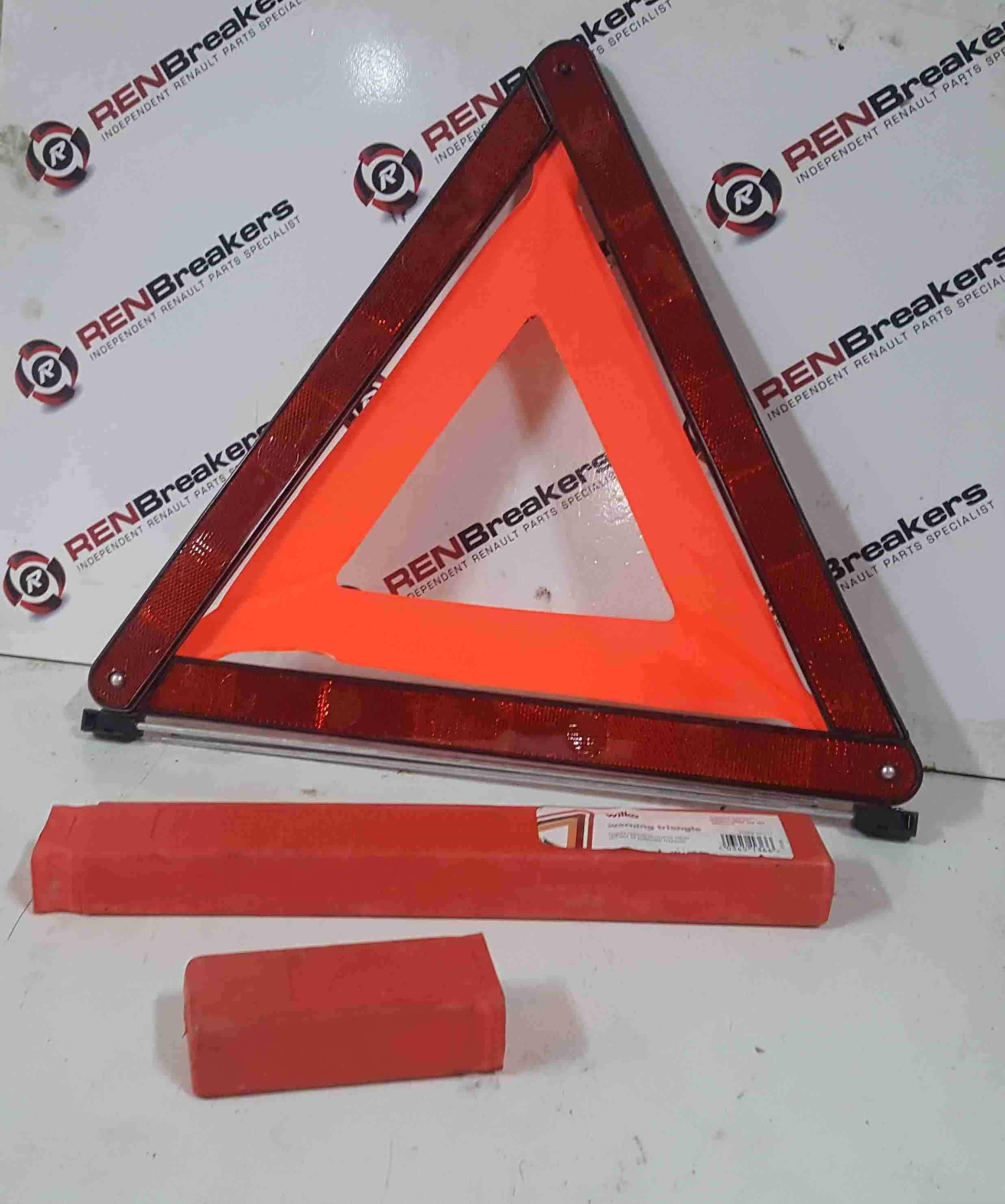 Renault Clio Megane Scenic 2003-2009 Warning Triangle