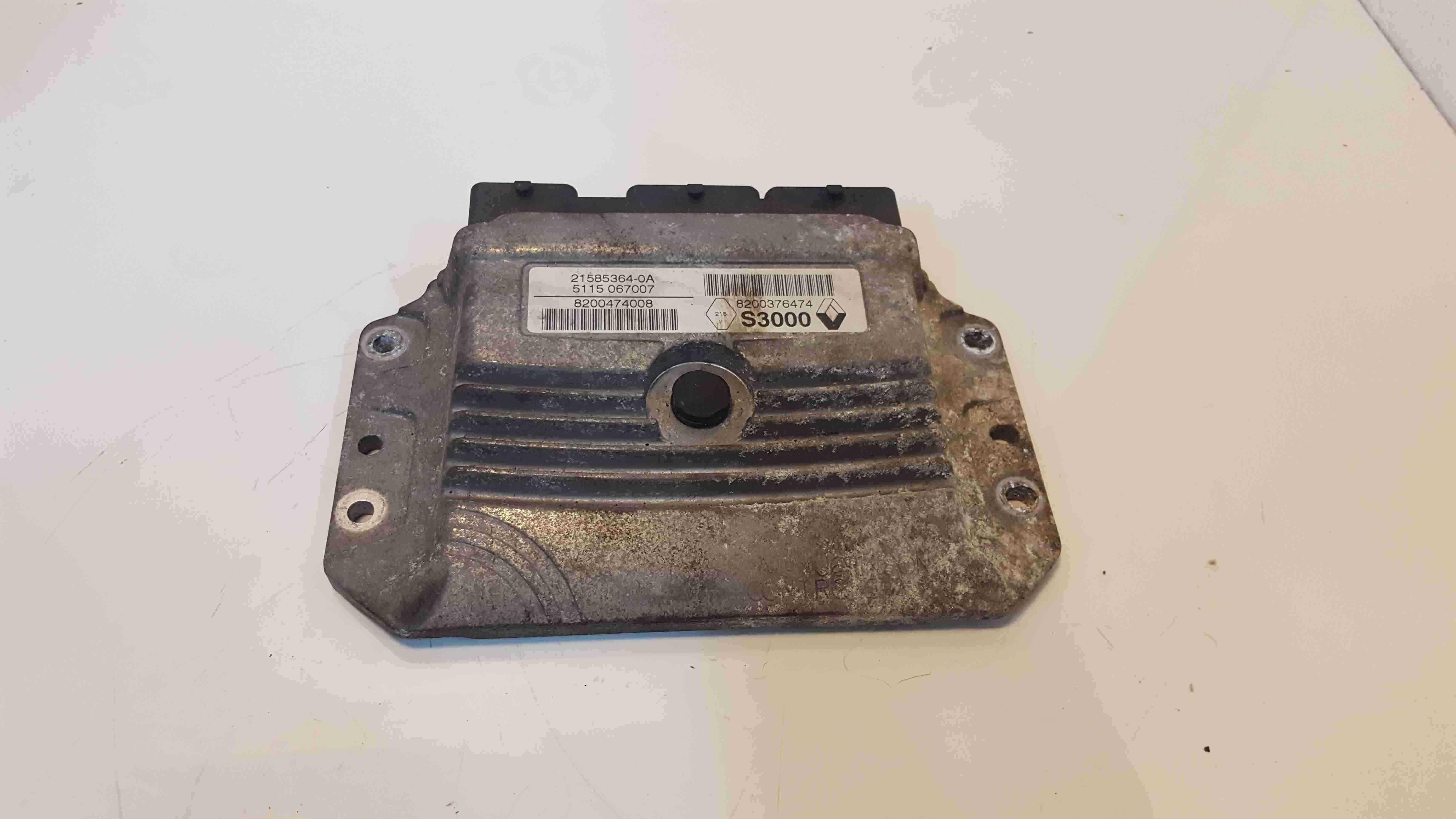 Renault Clio Modus 2005-2012 1.4 1.6 Engine Control Unit ECU Computer 8200376474