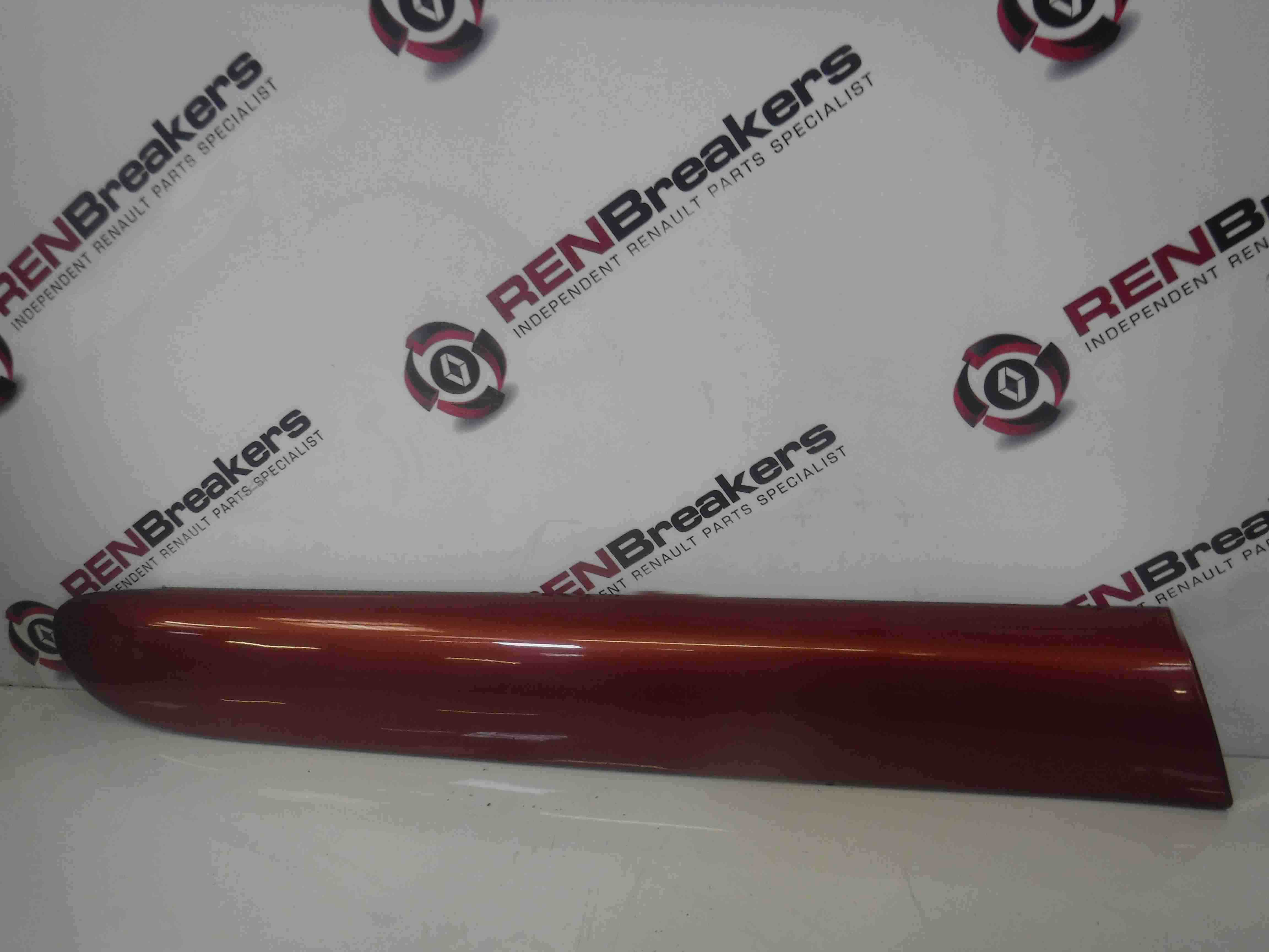 Renault Clio Sport 20012006 172 182 Drivers OSR Rear Moulding Red TEB76