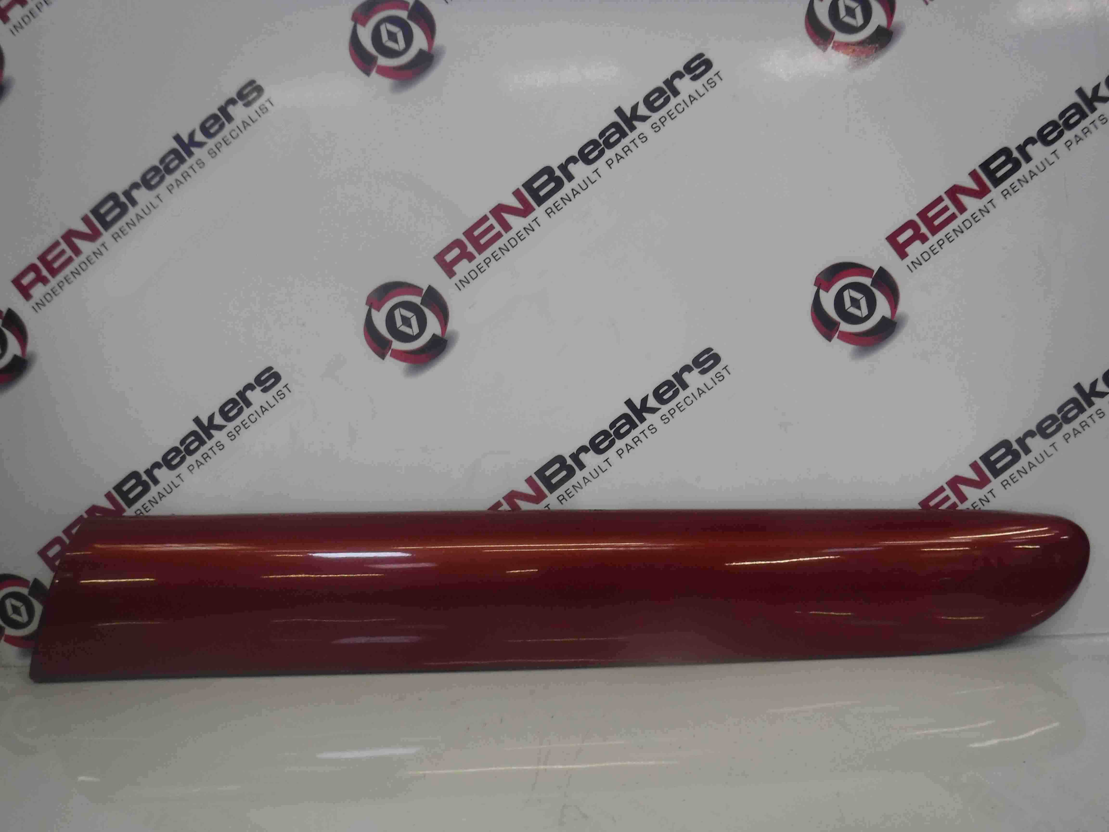 Renault Clio Sport 2001-2006 172 182 Passenger NSR Rear Moulding Red TEB76