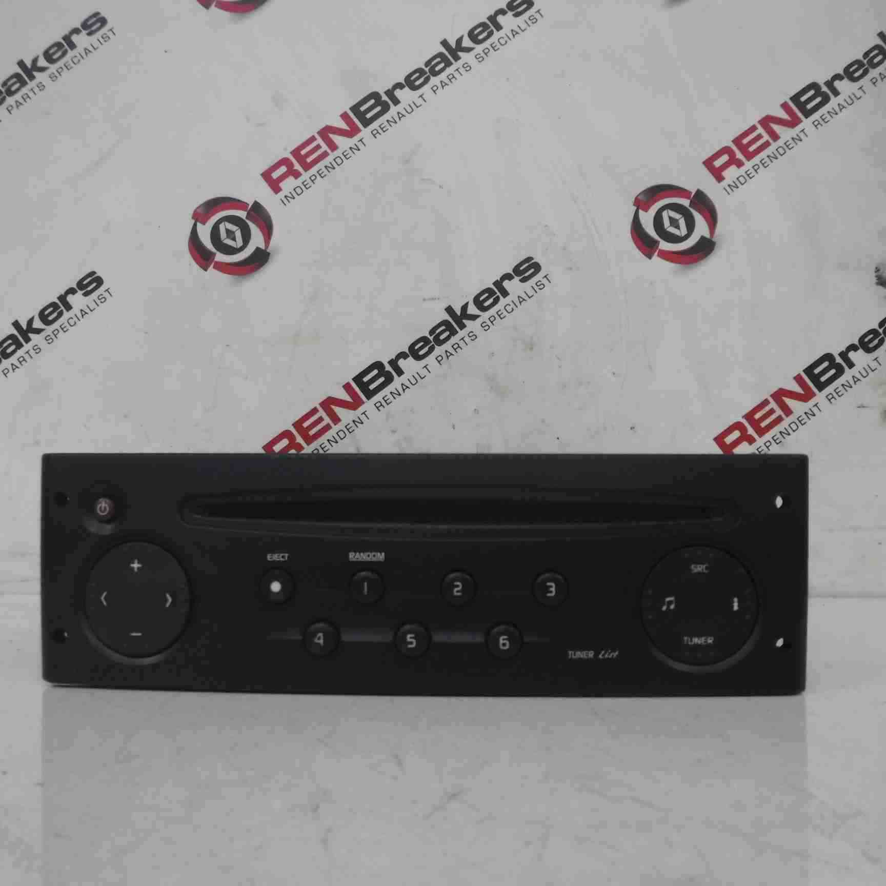 Renault Clio Sport 2001-2006 172 182 Radio Cd Player Tuner List + Code