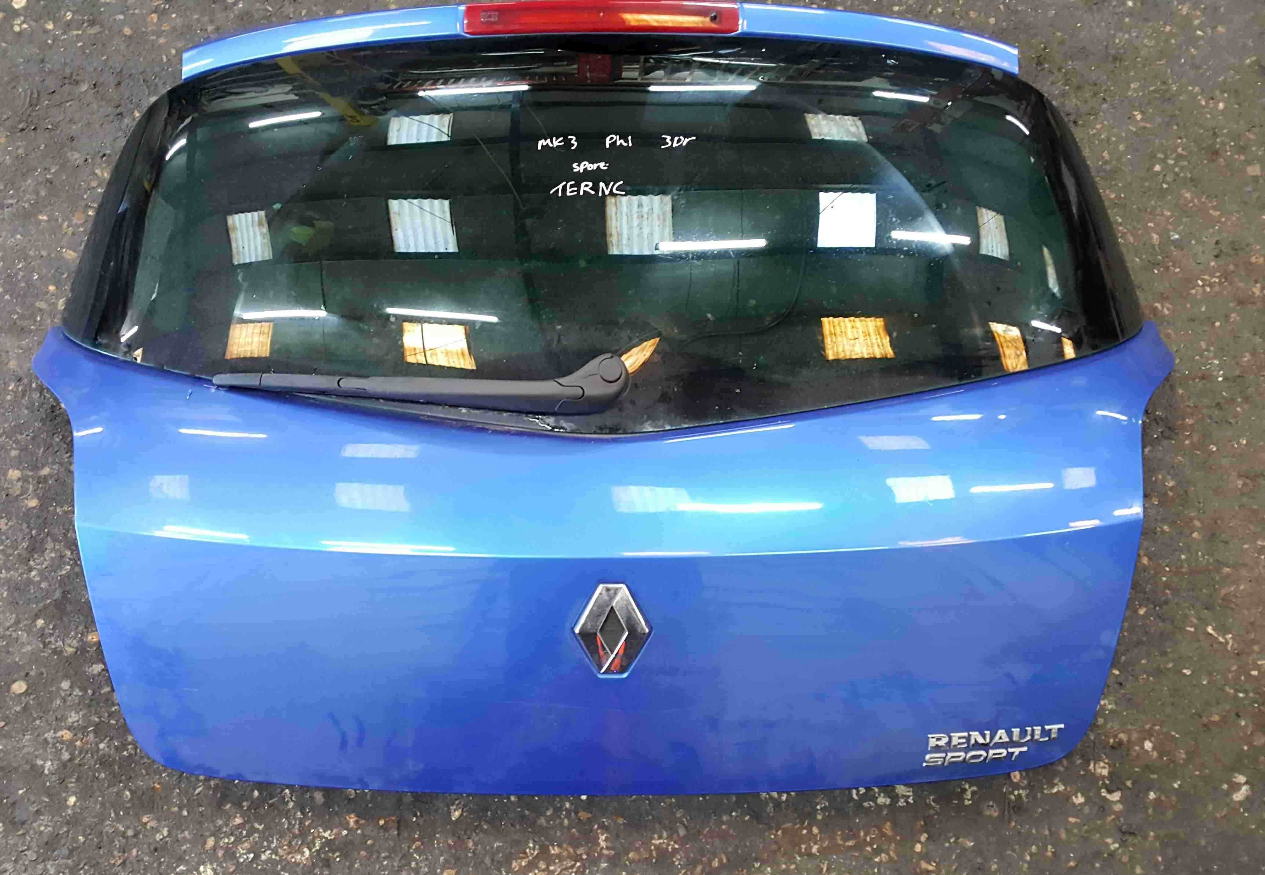 Renault Clio Sport 2001-2012 192 200 Rear Boot Tailgate Blue TERNC