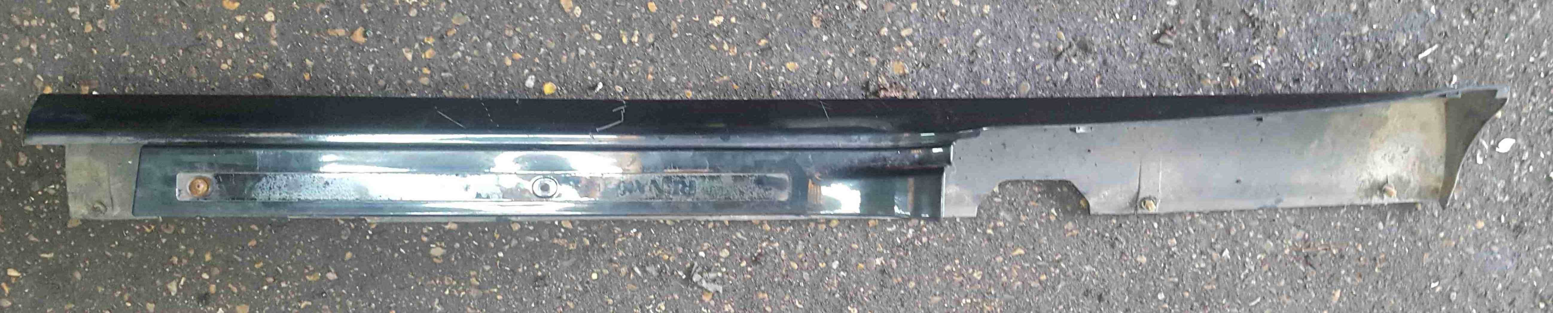Renault Clio Sport MK3 2005-2009 197 Drivers OS Side Skirt Black TEGNA