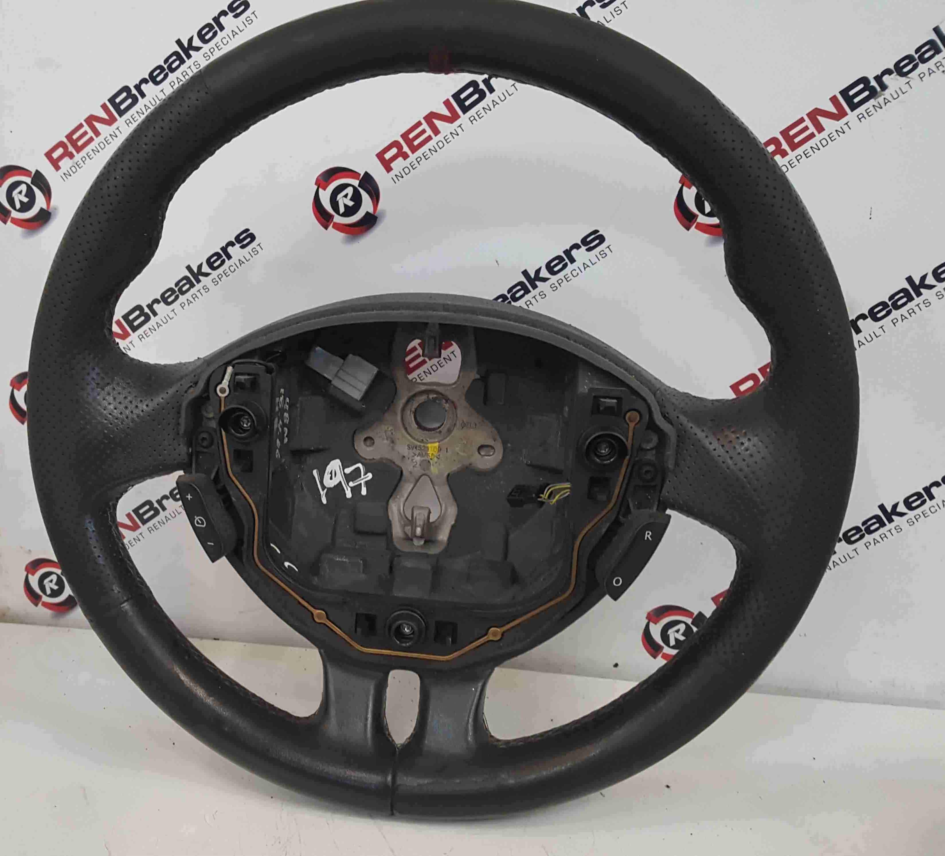 Renault Clio Sport MK3 2005-2012 197 200 Steering Wheel Red Stitching