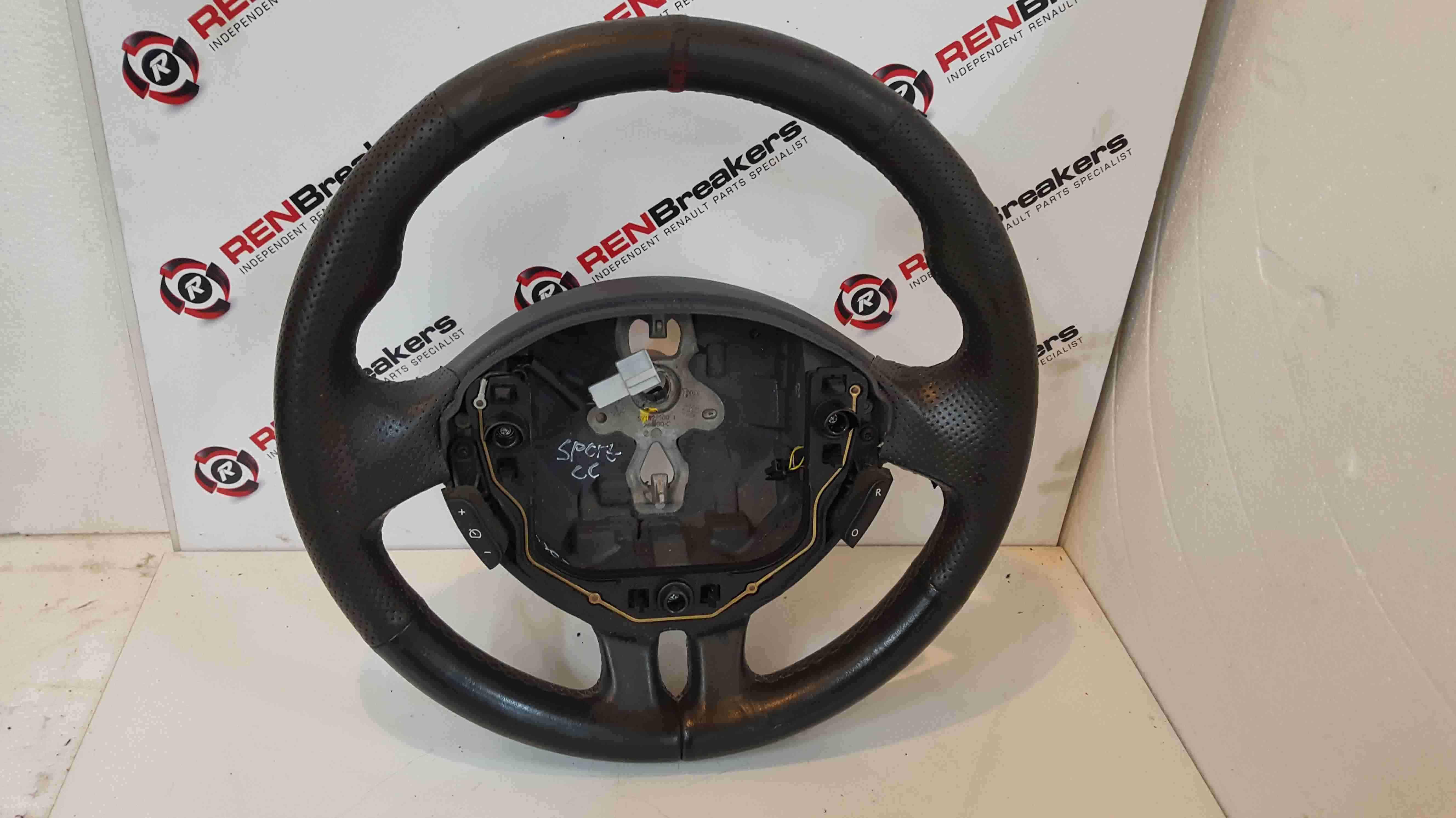 Renault Clio Sport MK3 2005-2012 197 200 Steering Wheel Red Stitching Cruise