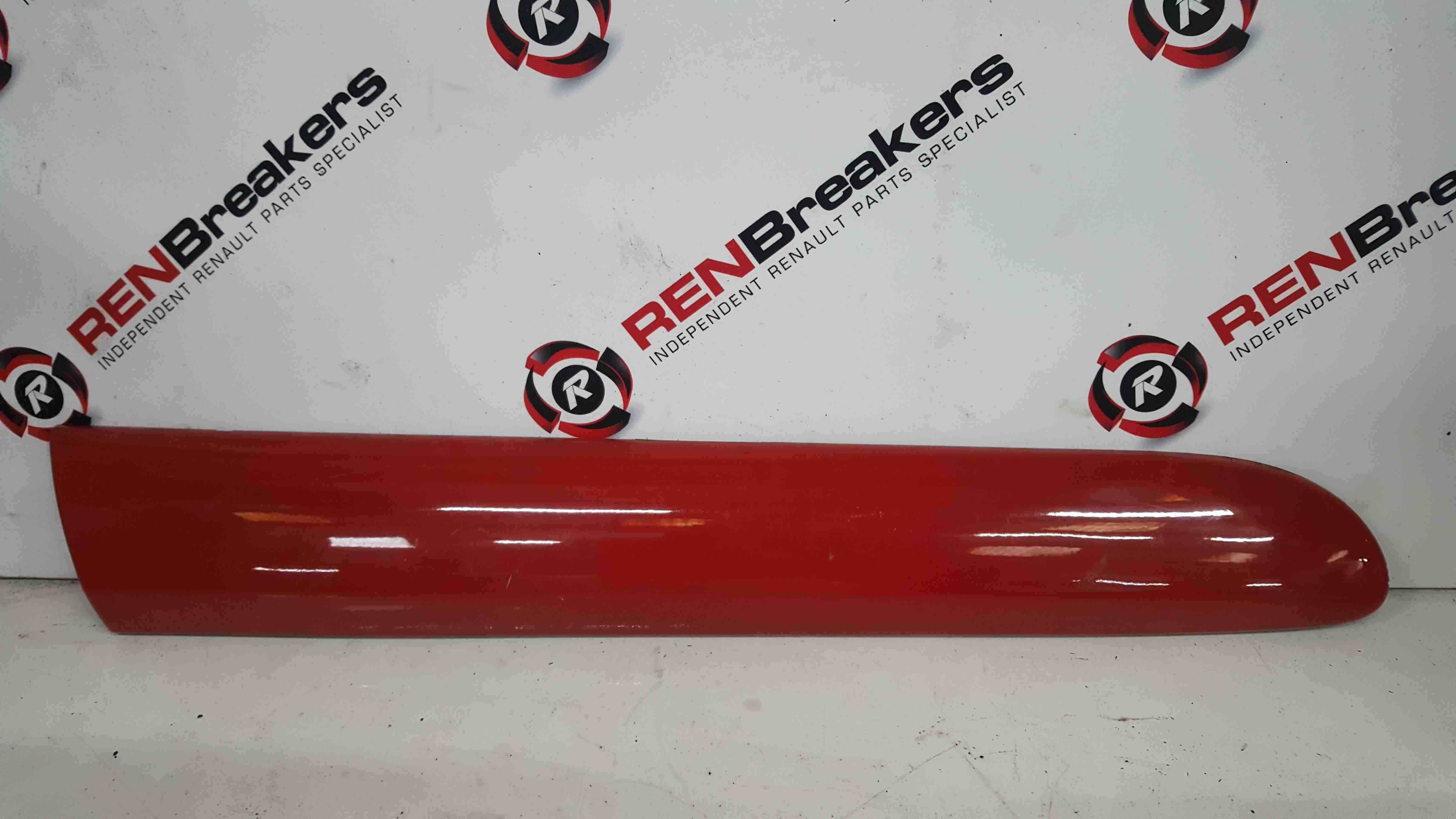 Renault Clio Sport Trophy MK2 2001-2006 Drivers OSR Rear Trim Moulding Red