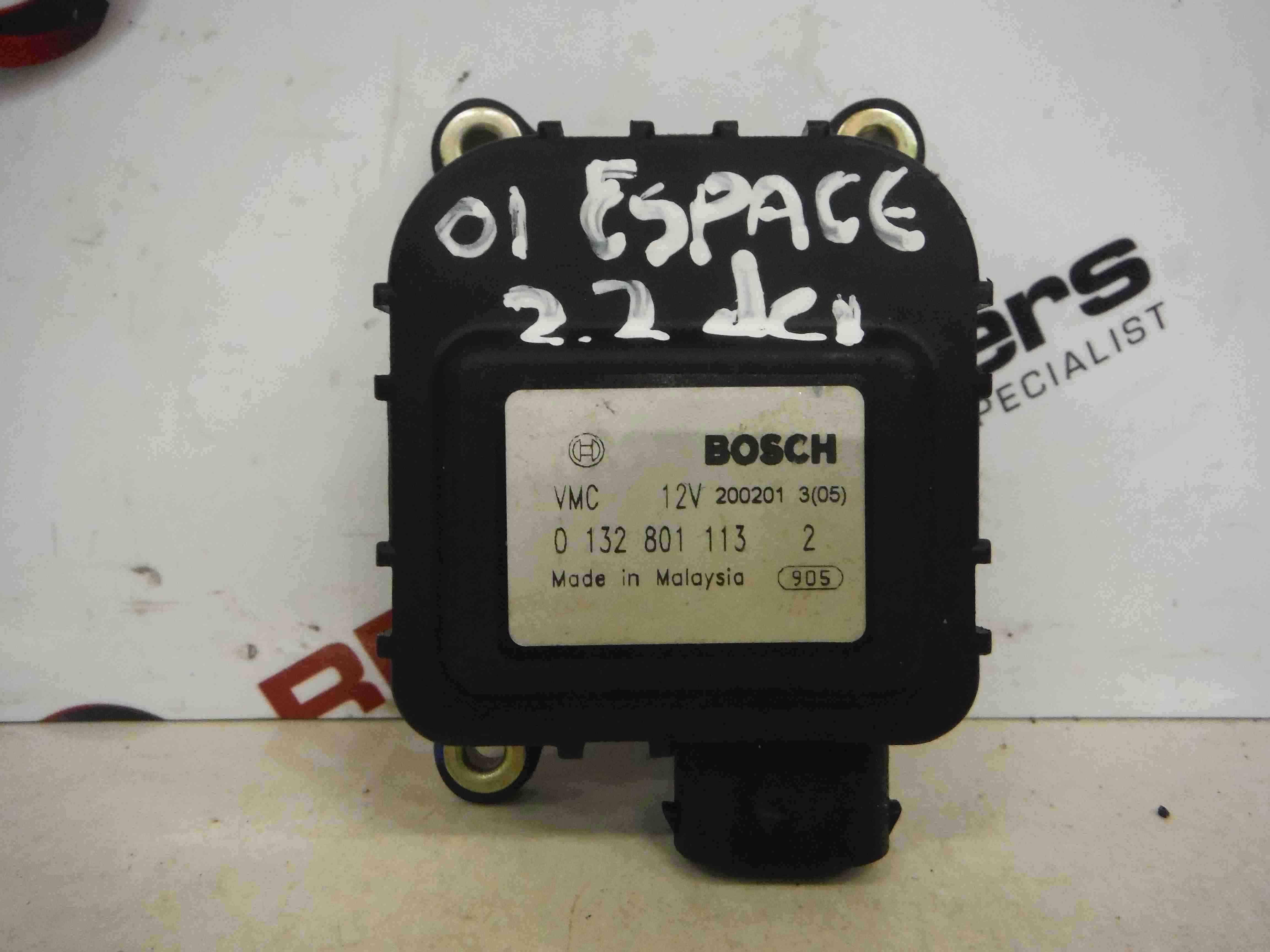 Renault Espace 1997-2003 Heater Blower Actuator Flap 0132801112 0132801111