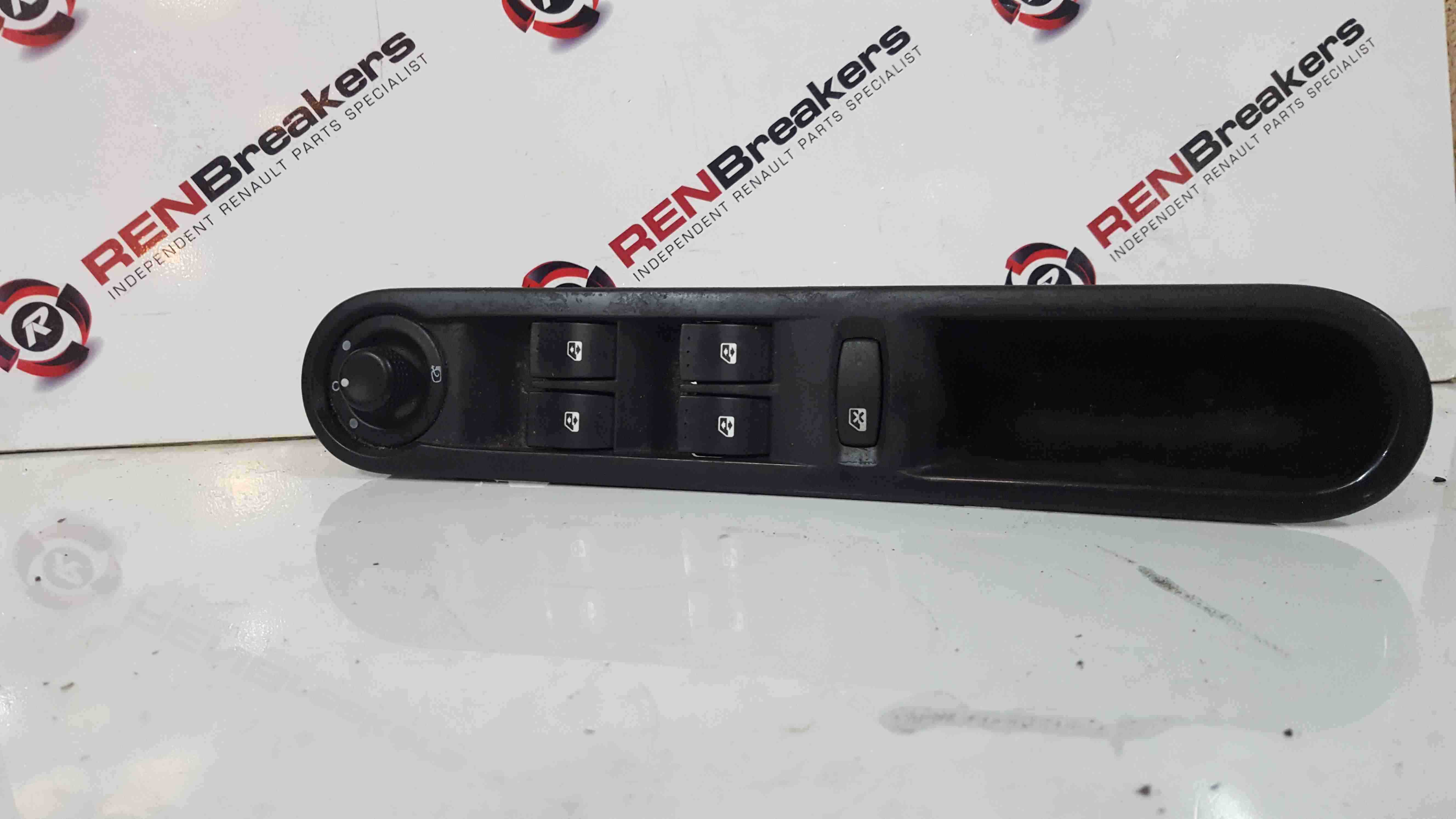 Renault Espace 2003-2013 Drivers OSF Front Window Switch Mirror Adjuster Panel