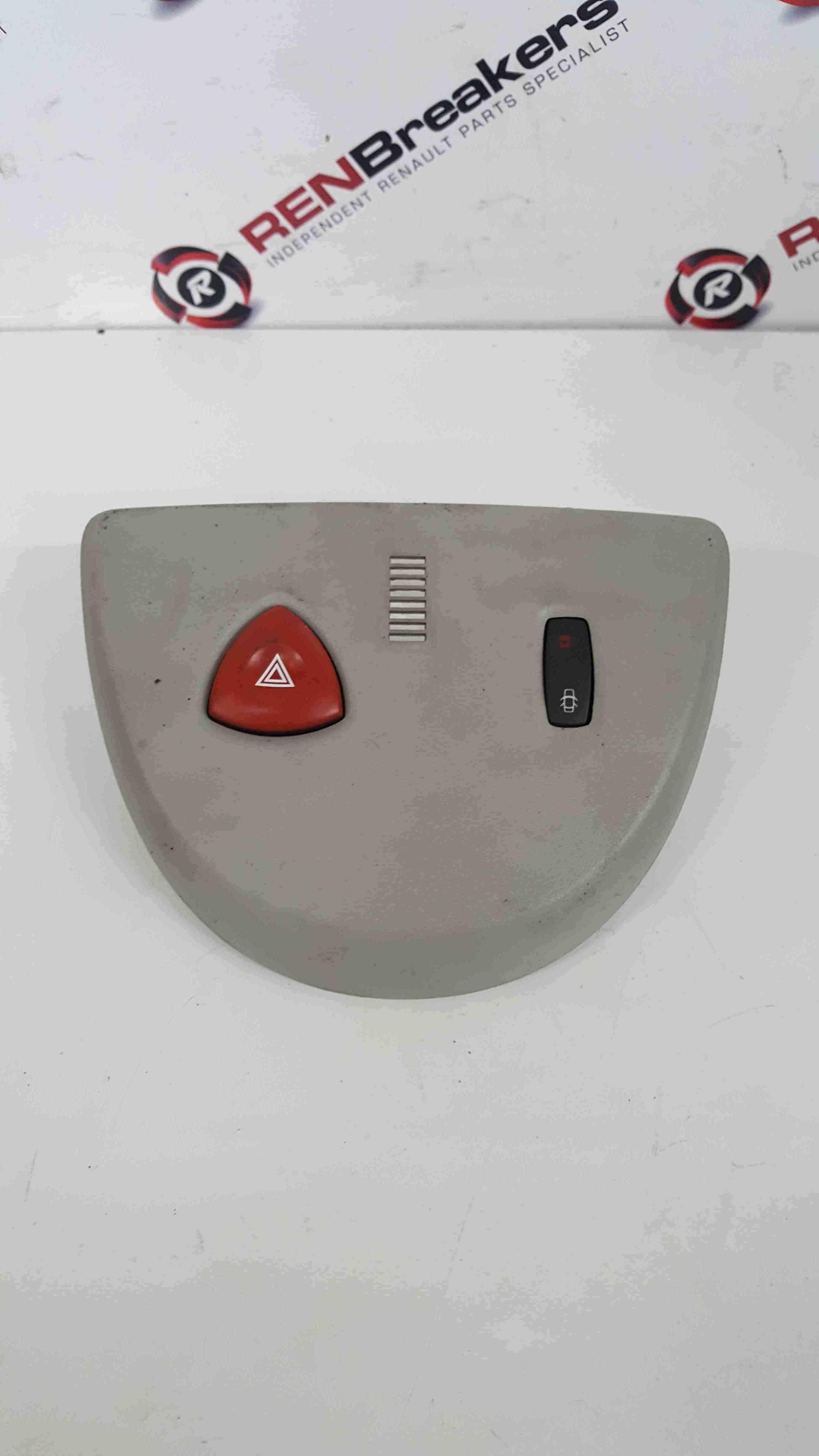 Renault Espace 2003-2013 Hazard Warning Switch + Panel